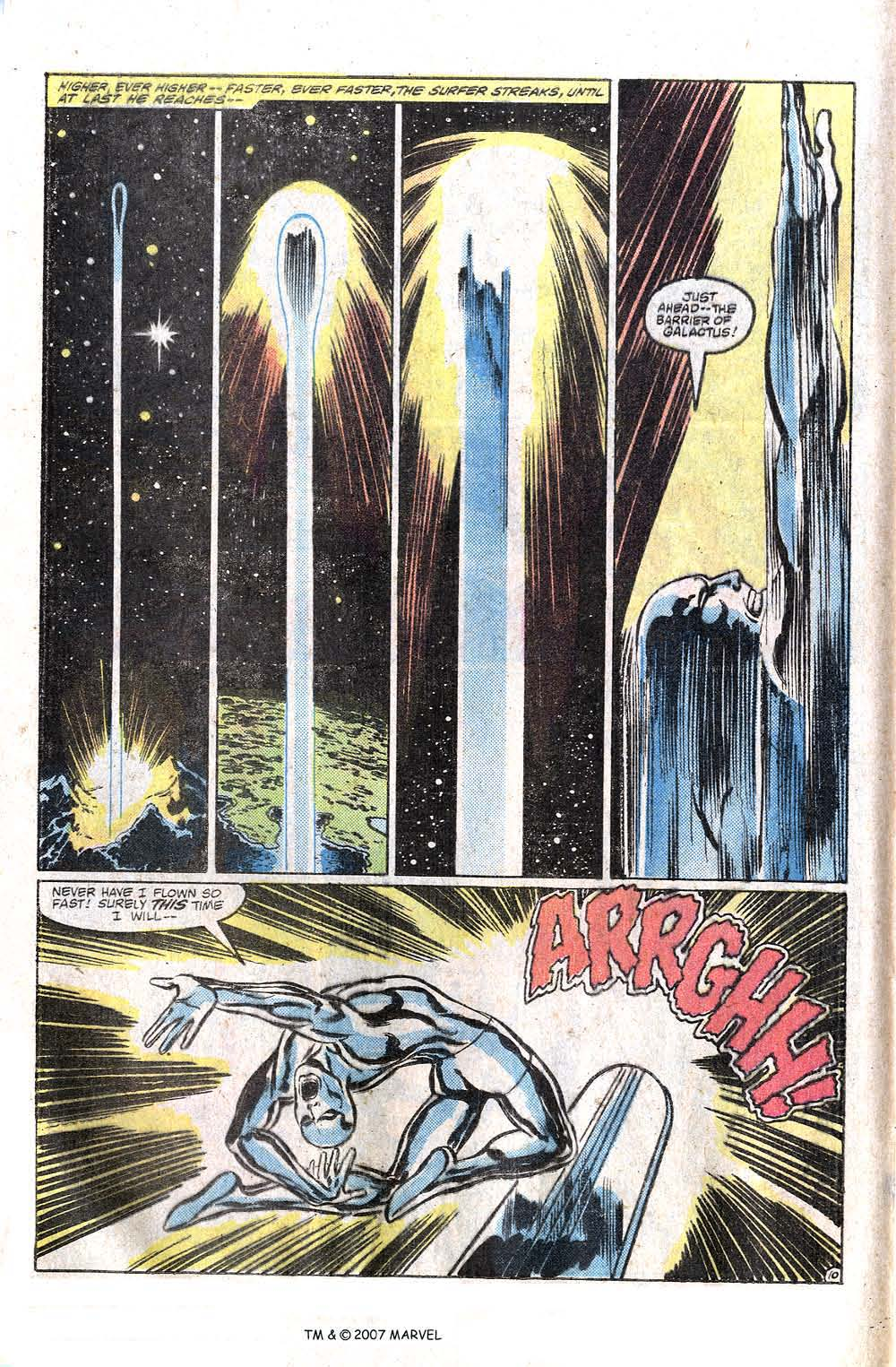 Read online Silver Surfer (1982) comic -  Issue # Full - 12