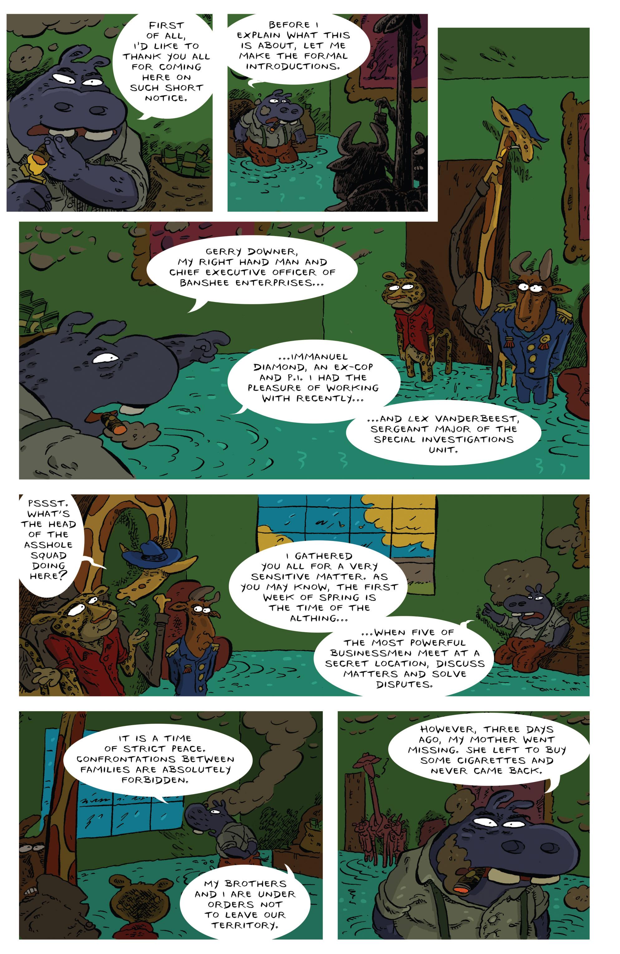 Read online Animal Noir comic -  Issue #4 - 8
