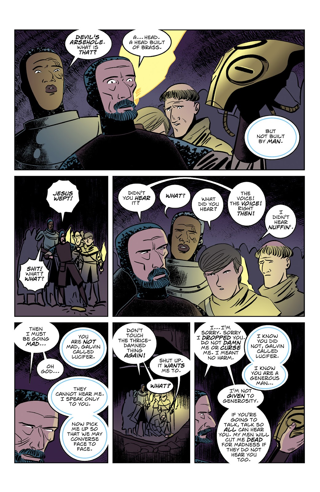 Read online Dark Ages comic -  Issue #3 - 7