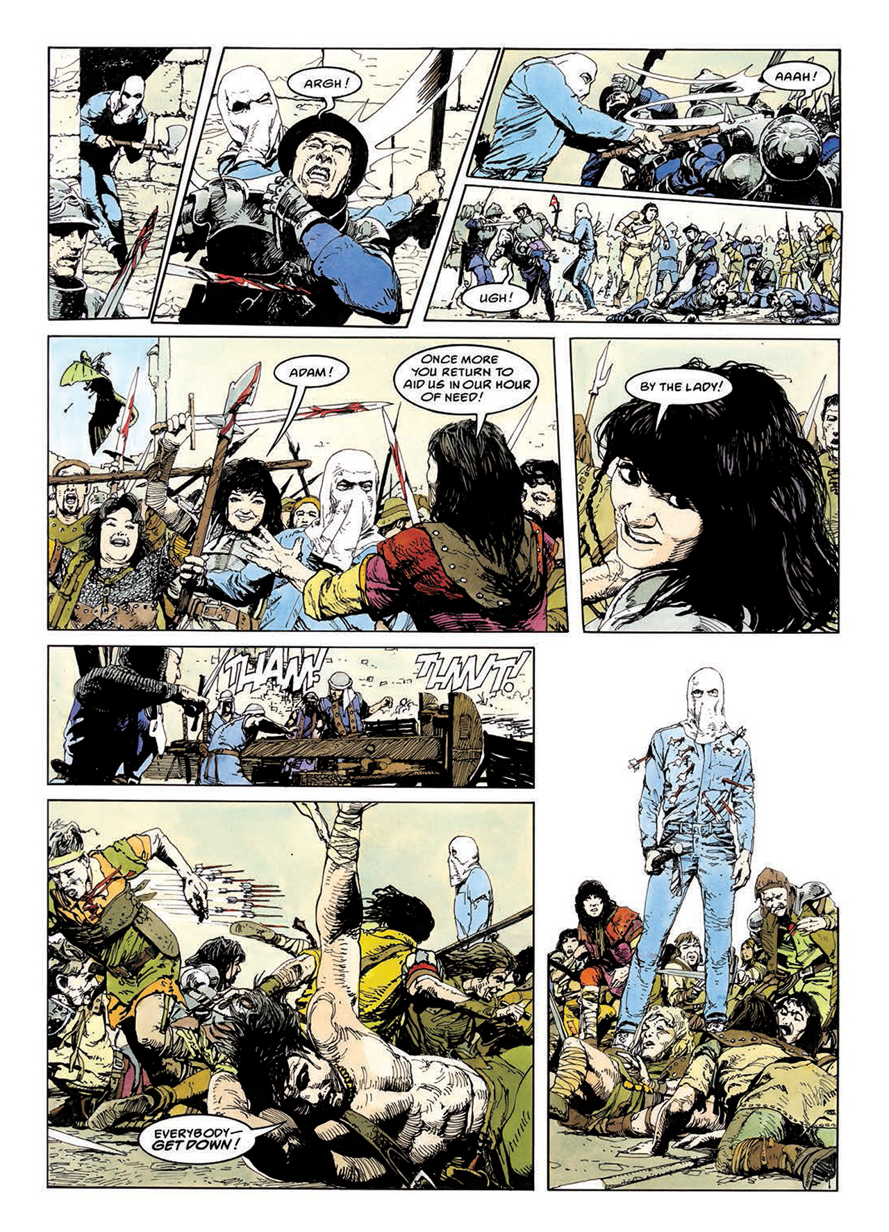 Read online Mazeworld comic -  Issue # TPB - 115