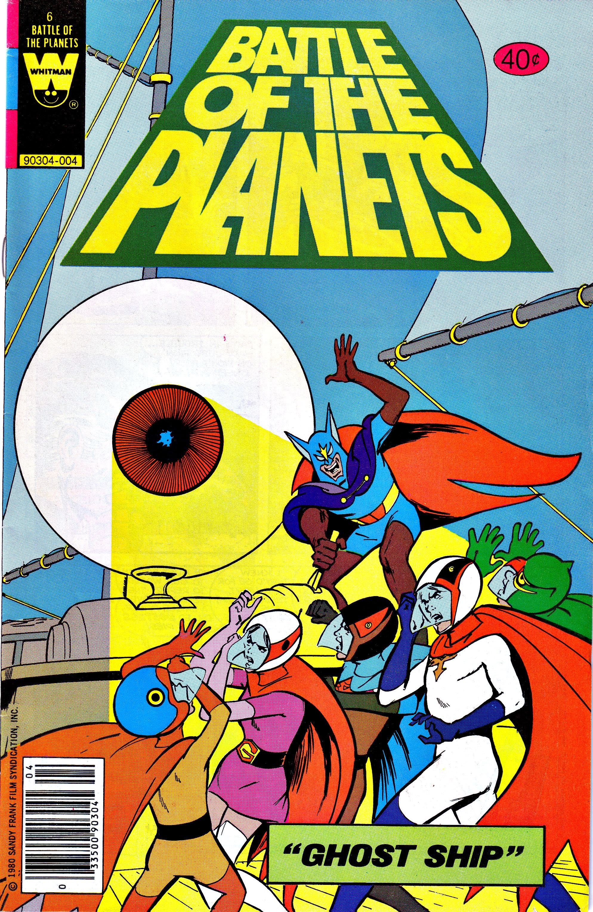 Battle of the Planets (1979) 6 Page 1