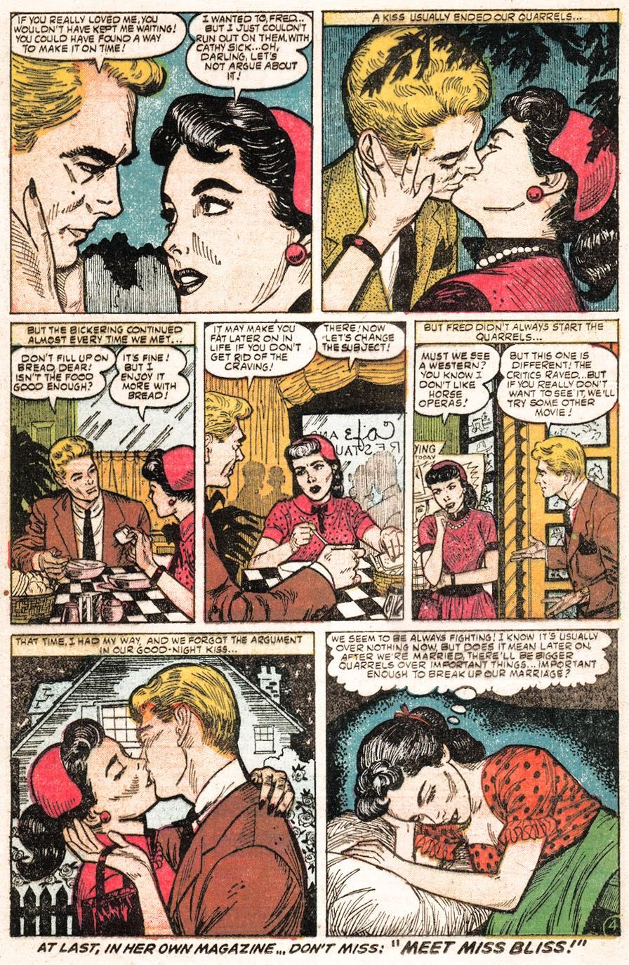 Love Romances (1949) issue 51 - Page 22