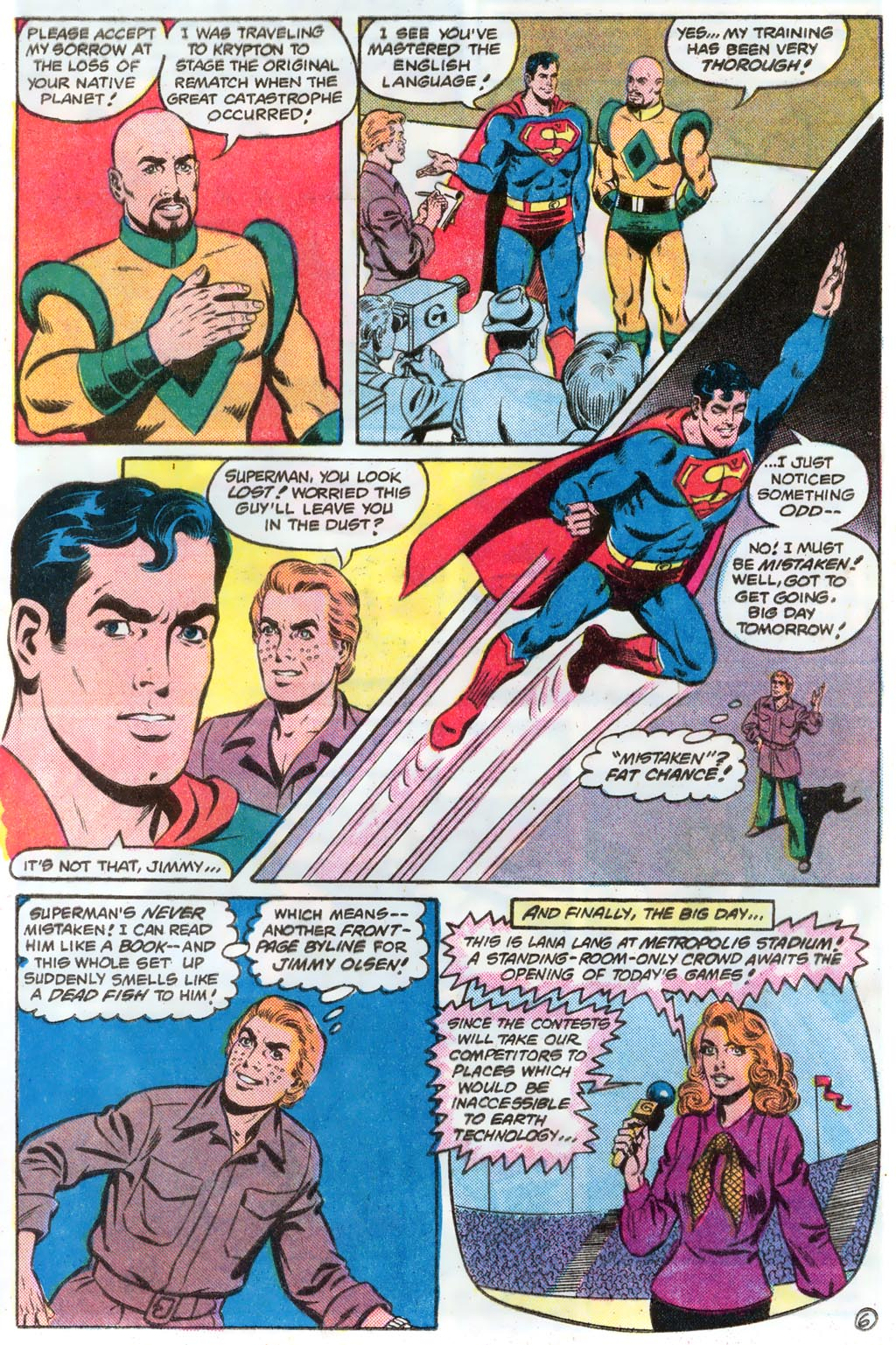 Read online Action Comics (1938) comic -  Issue #574 - 9
