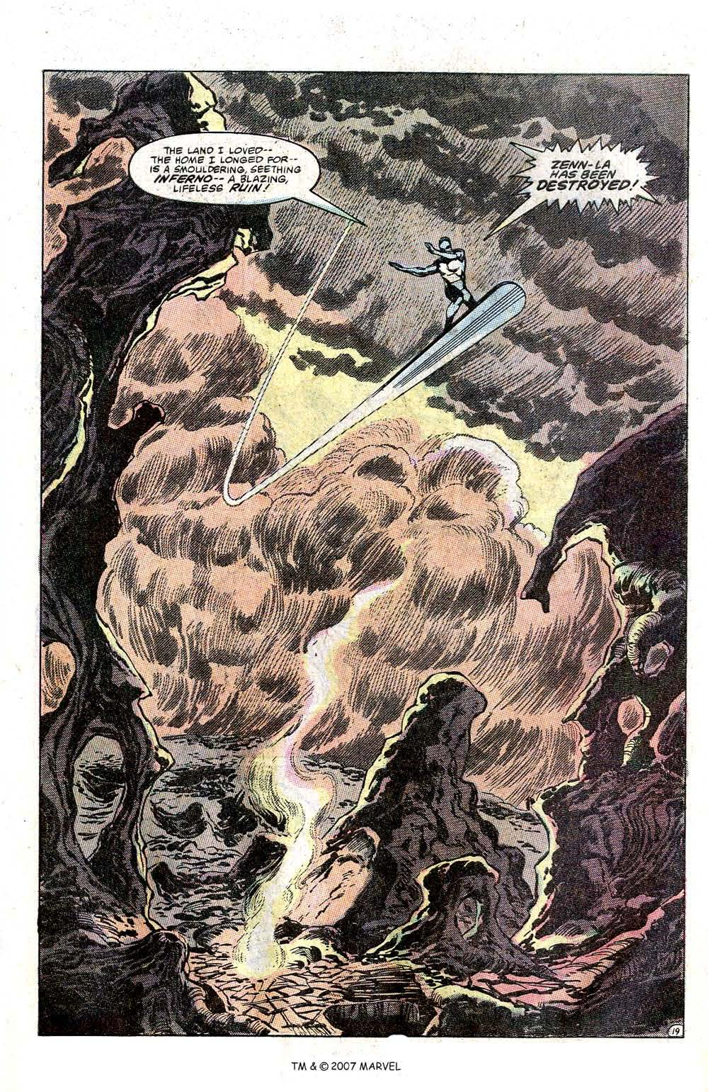 Read online Silver Surfer (1982) comic -  Issue # Full - 21