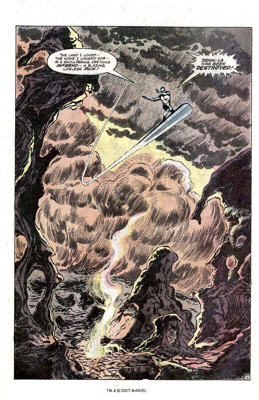 Silver Surfer (1982) Full #1 - English 21