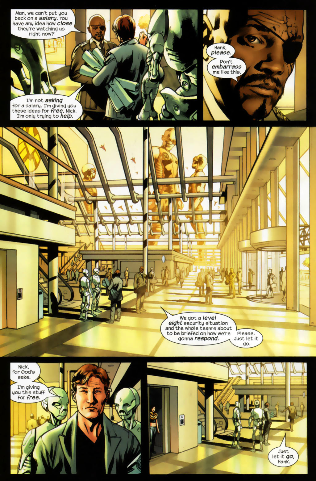 Read online Ultimates 2 comic -  Issue #6 - 9