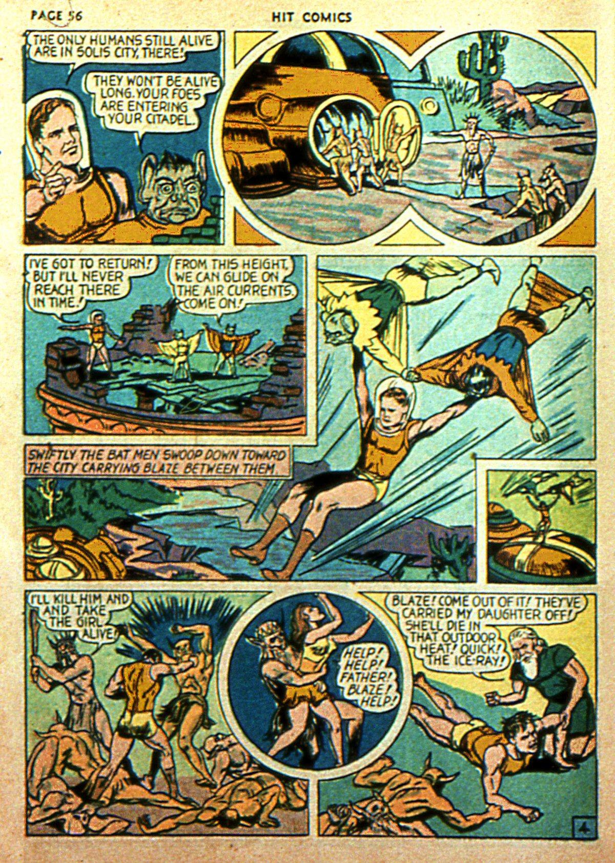 Read online Hit Comics comic -  Issue #2 - 58