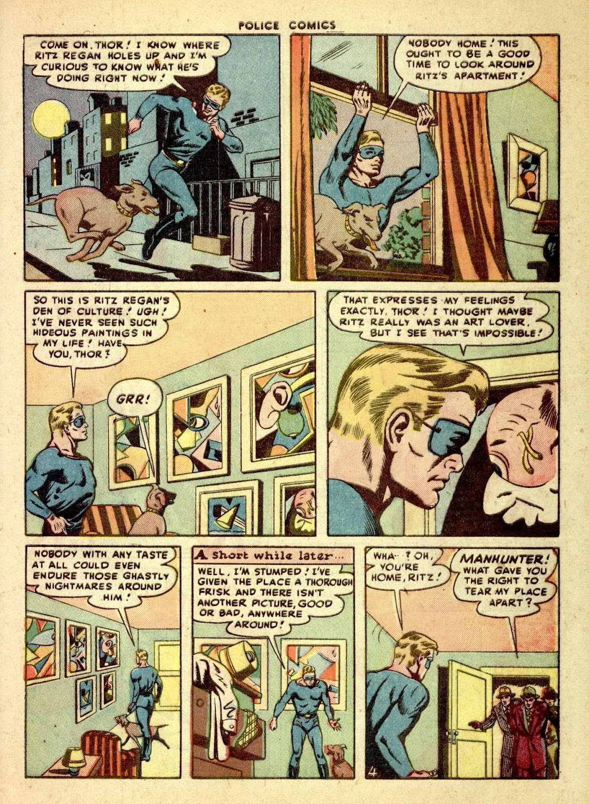 Police Comics issue 76 - Page 45