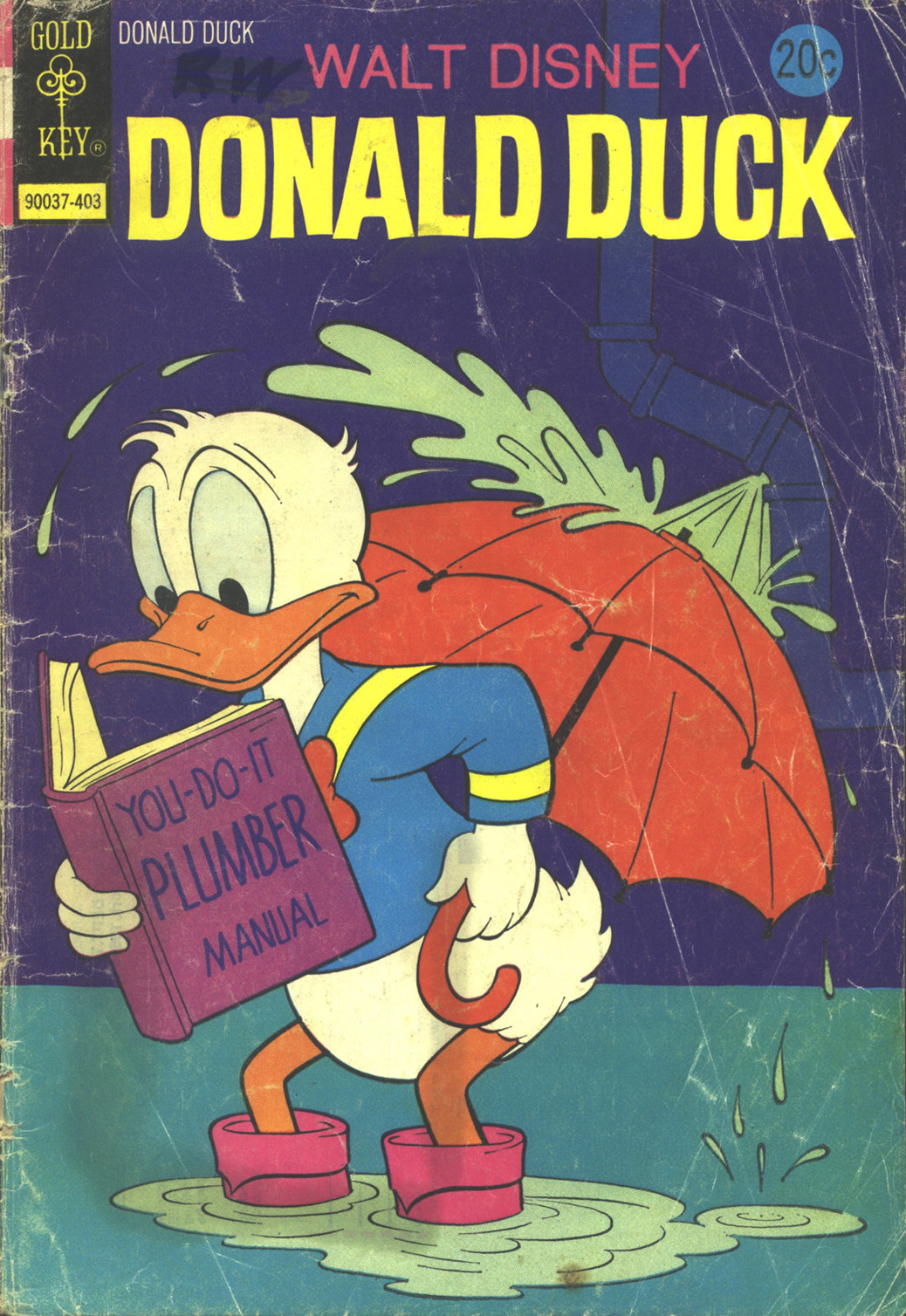 Donald Duck (1962) 155 Page 1