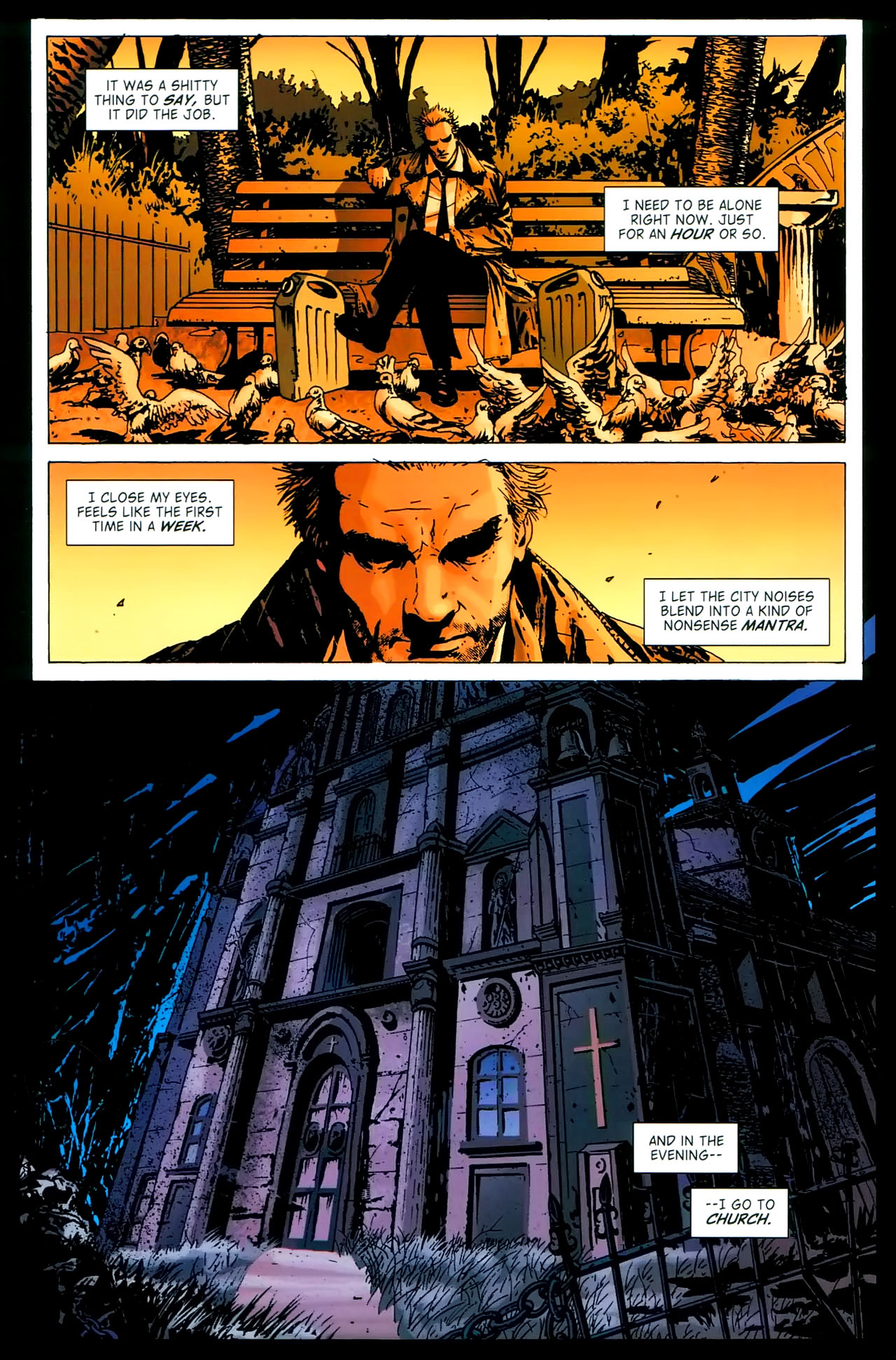 Read online John Constantine Hellblazer: All His Engines comic -  Issue # Full - 76