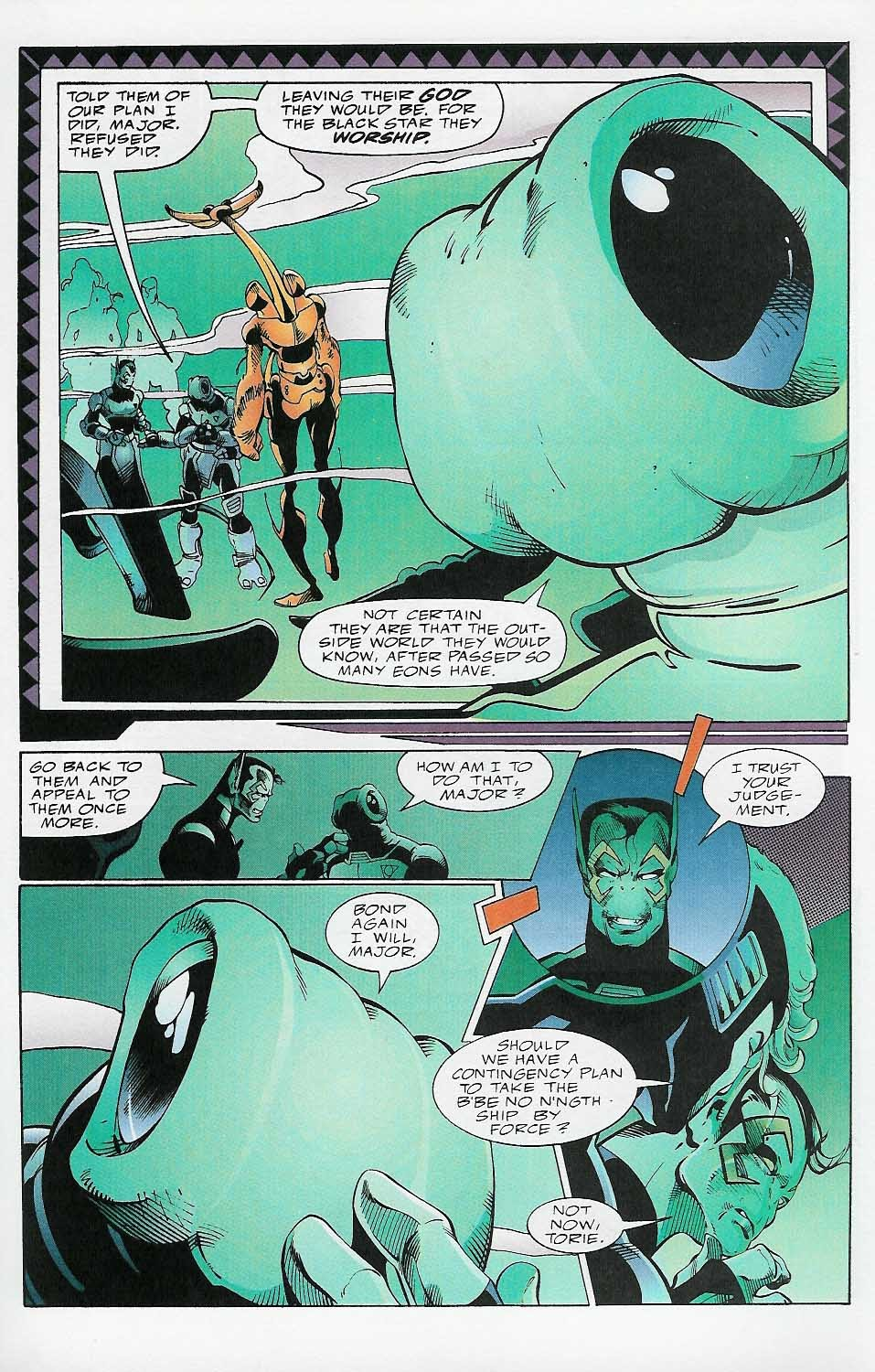 Alien Legion: On the Edge issue 2 - Page 12