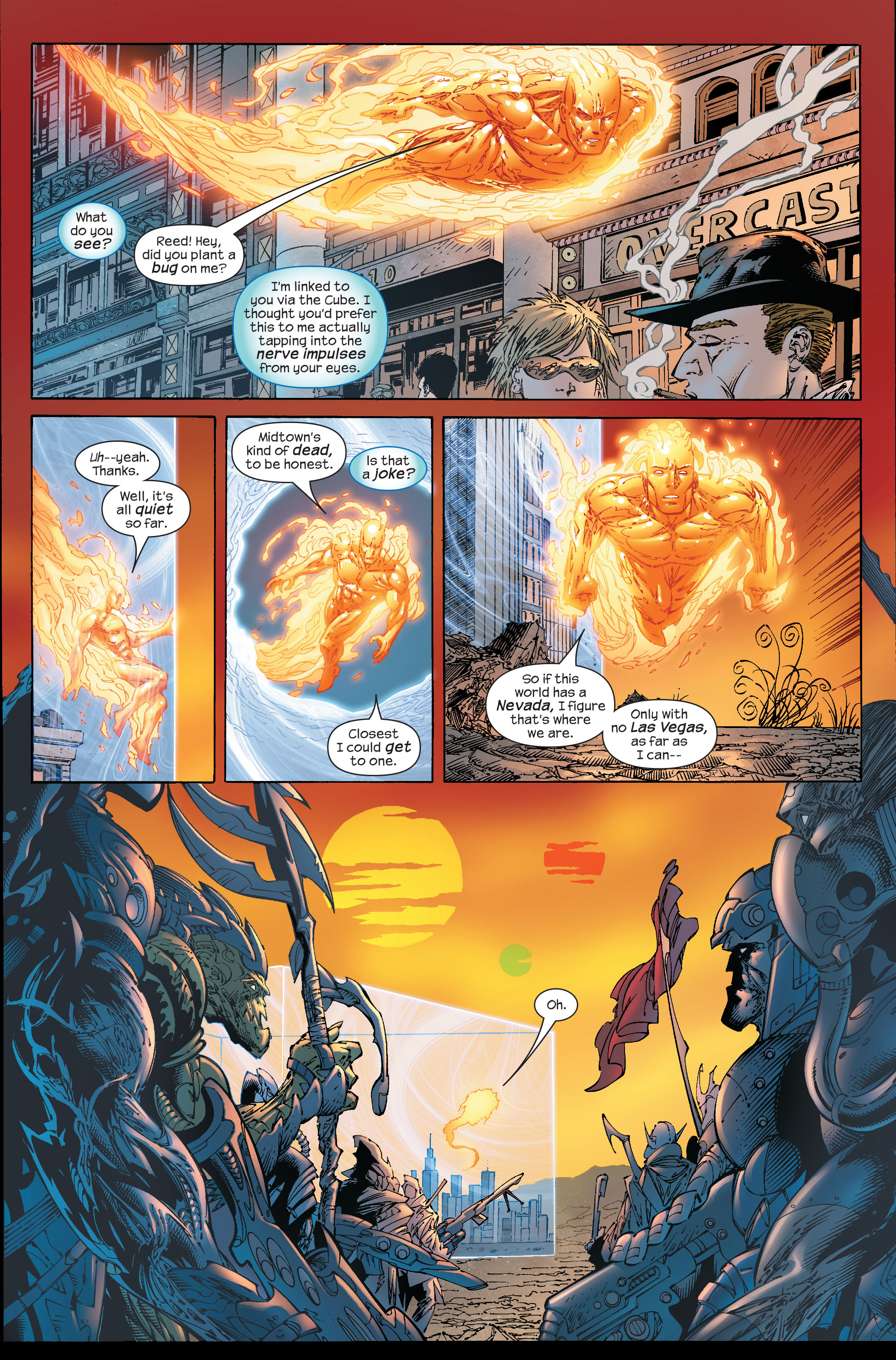 Read online Ultimate Fantastic Four (2004) comic -  Issue #51 - 8