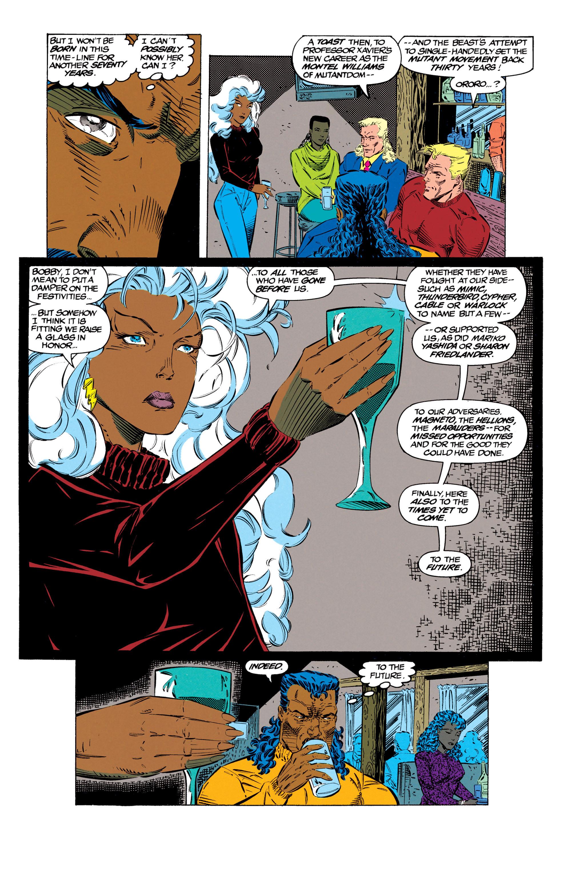 Read online Uncanny X-Men (1963) comic -  Issue #299 - 20