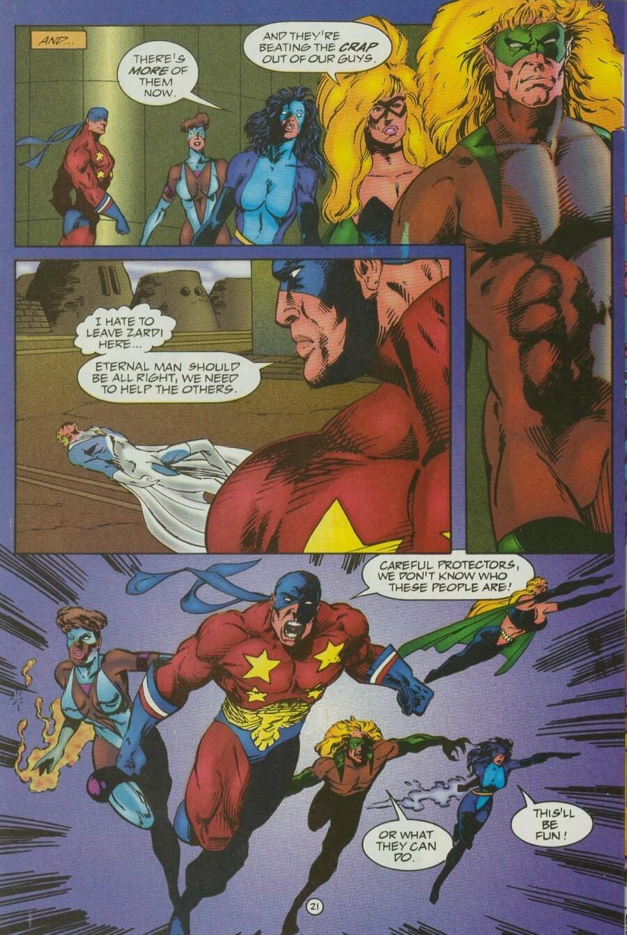 Read online Ex-Mutants comic -  Issue #12 - 25