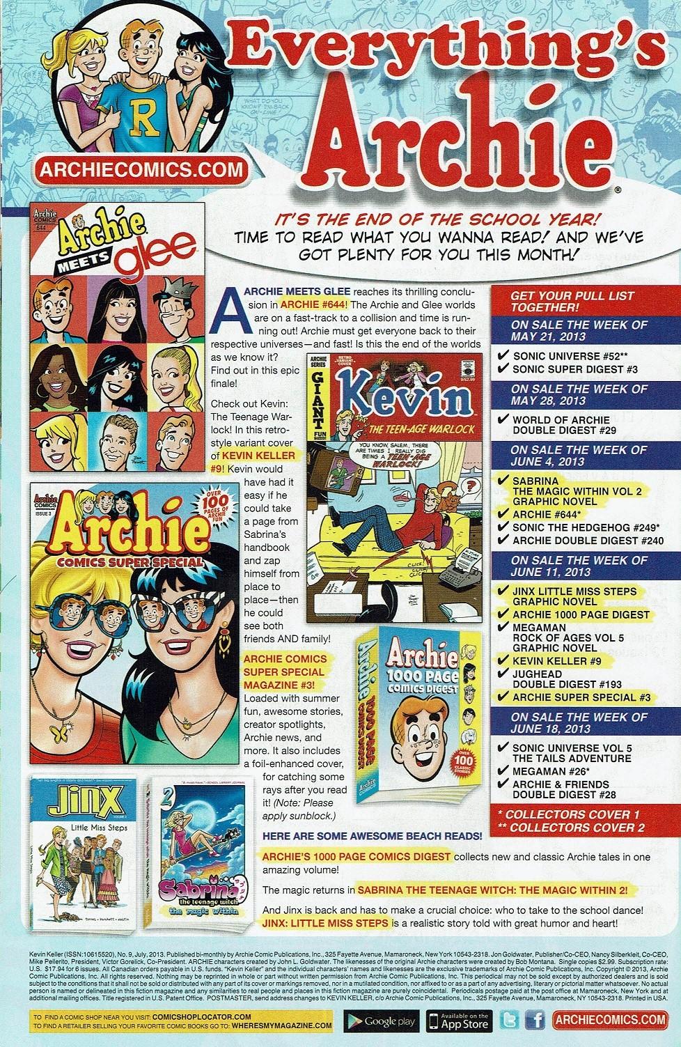 Read online Kevin Keller comic -  Issue #9 - 35