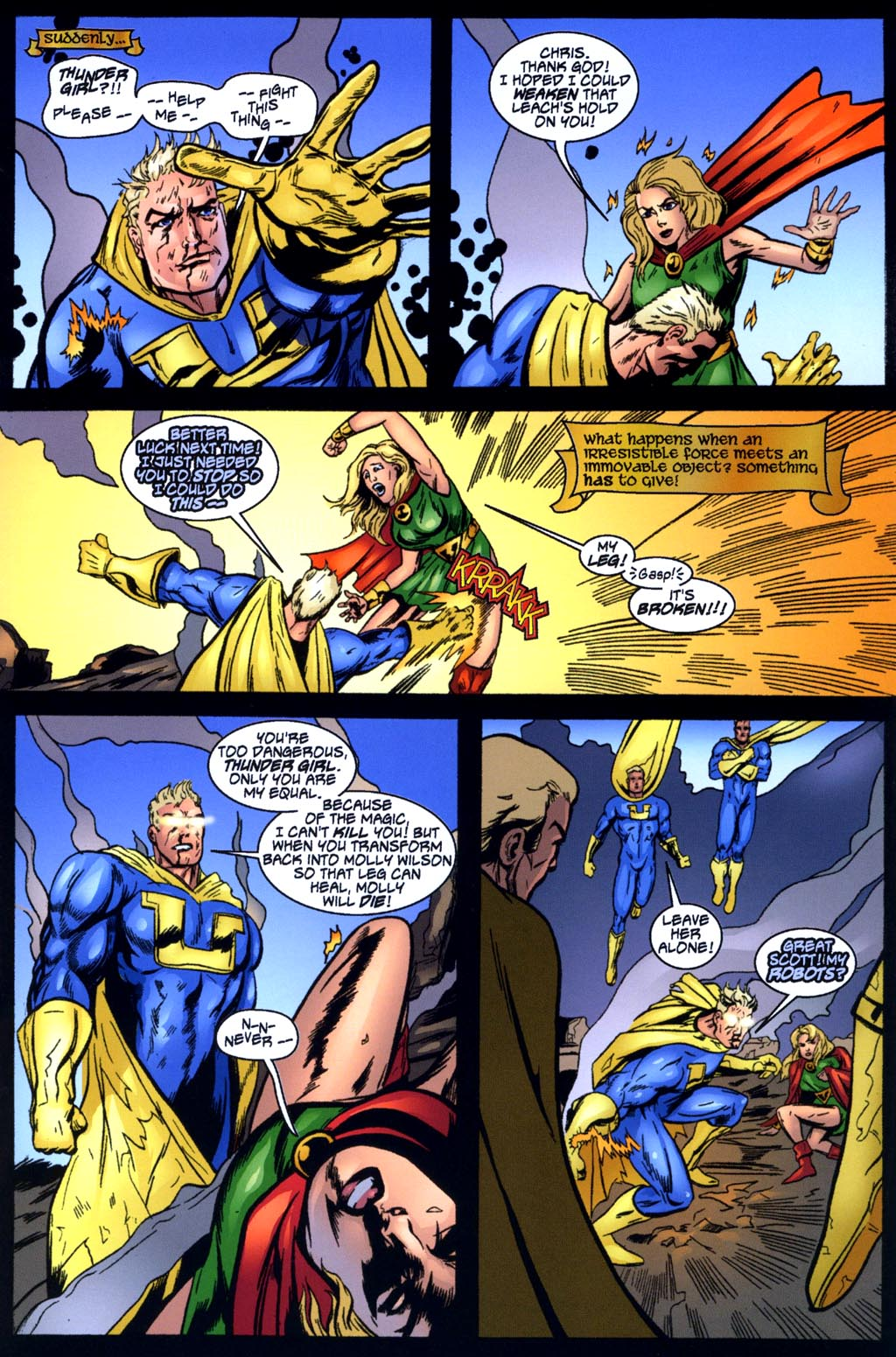 Read online Big Bang: Round Table of America comic -  Issue # Full - 17