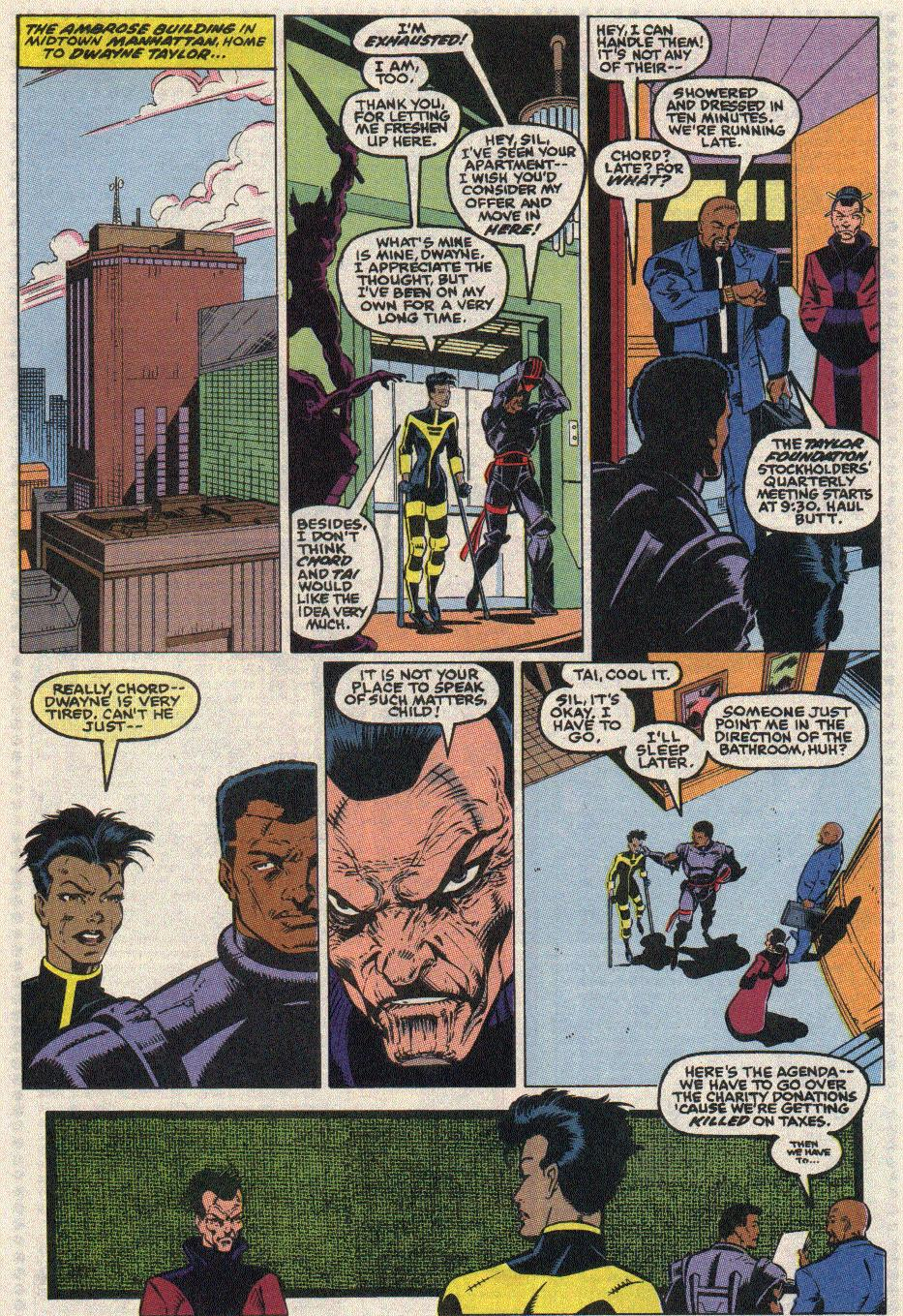 The New Warriors Issue #17 #21 - English 19