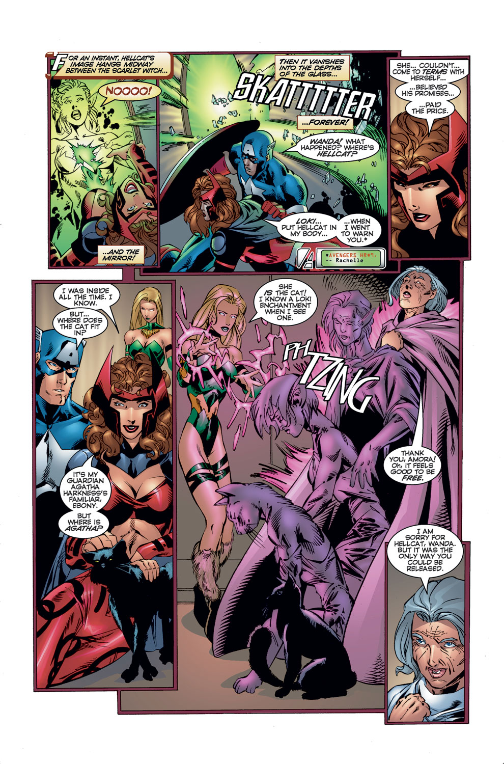 Read online Avengers (1996) comic -  Issue #11 - 6