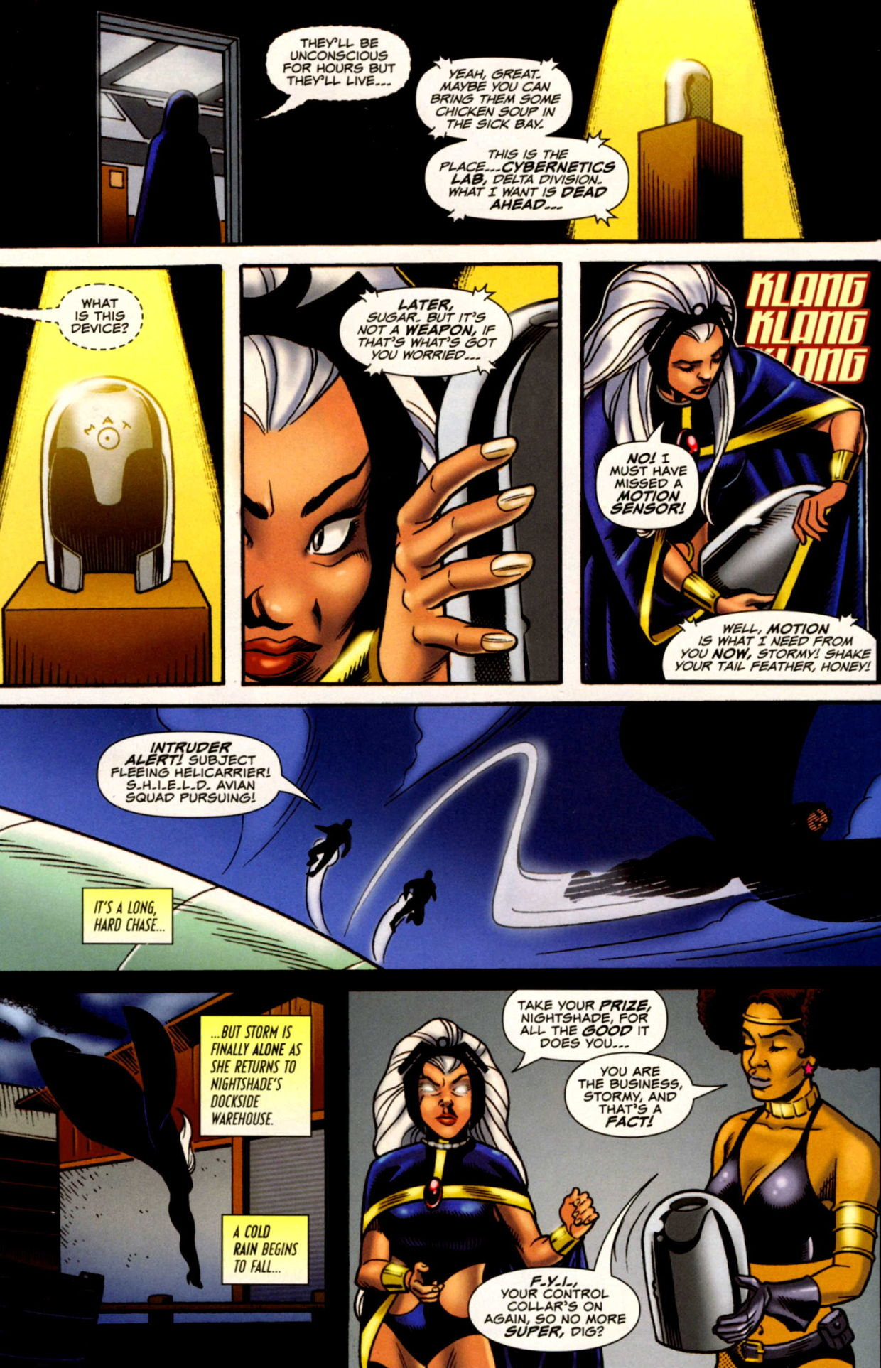 Read online Uncanny X-Men: First Class comic -  Issue #4 - 10