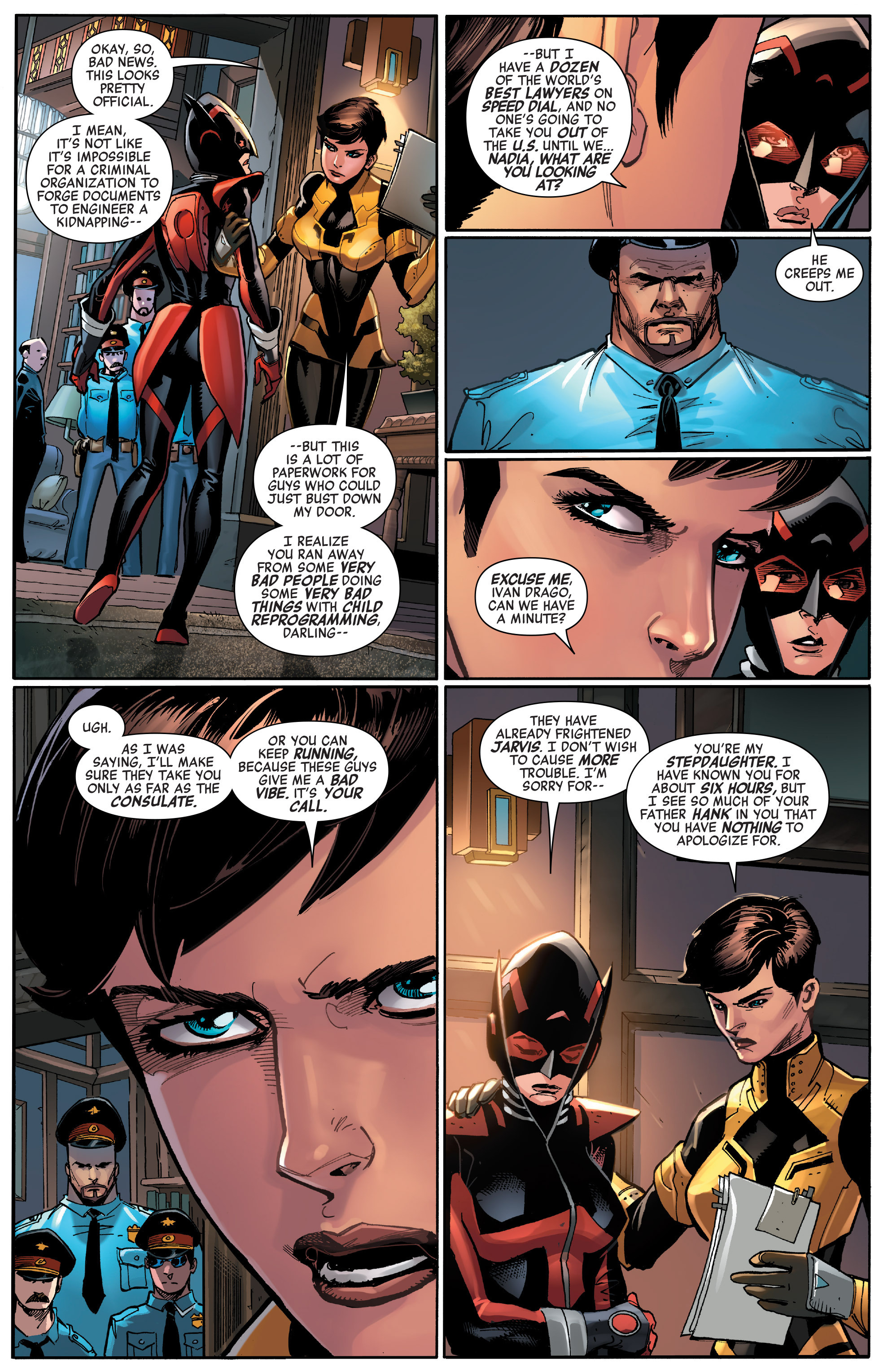 Read online All-New, All-Different Avengers comic -  Issue #14 - 4