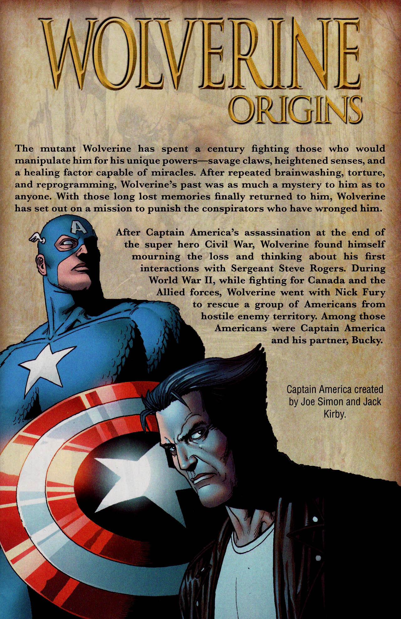 Read online Wolverine: Origins comic -  Issue #18 - 2
