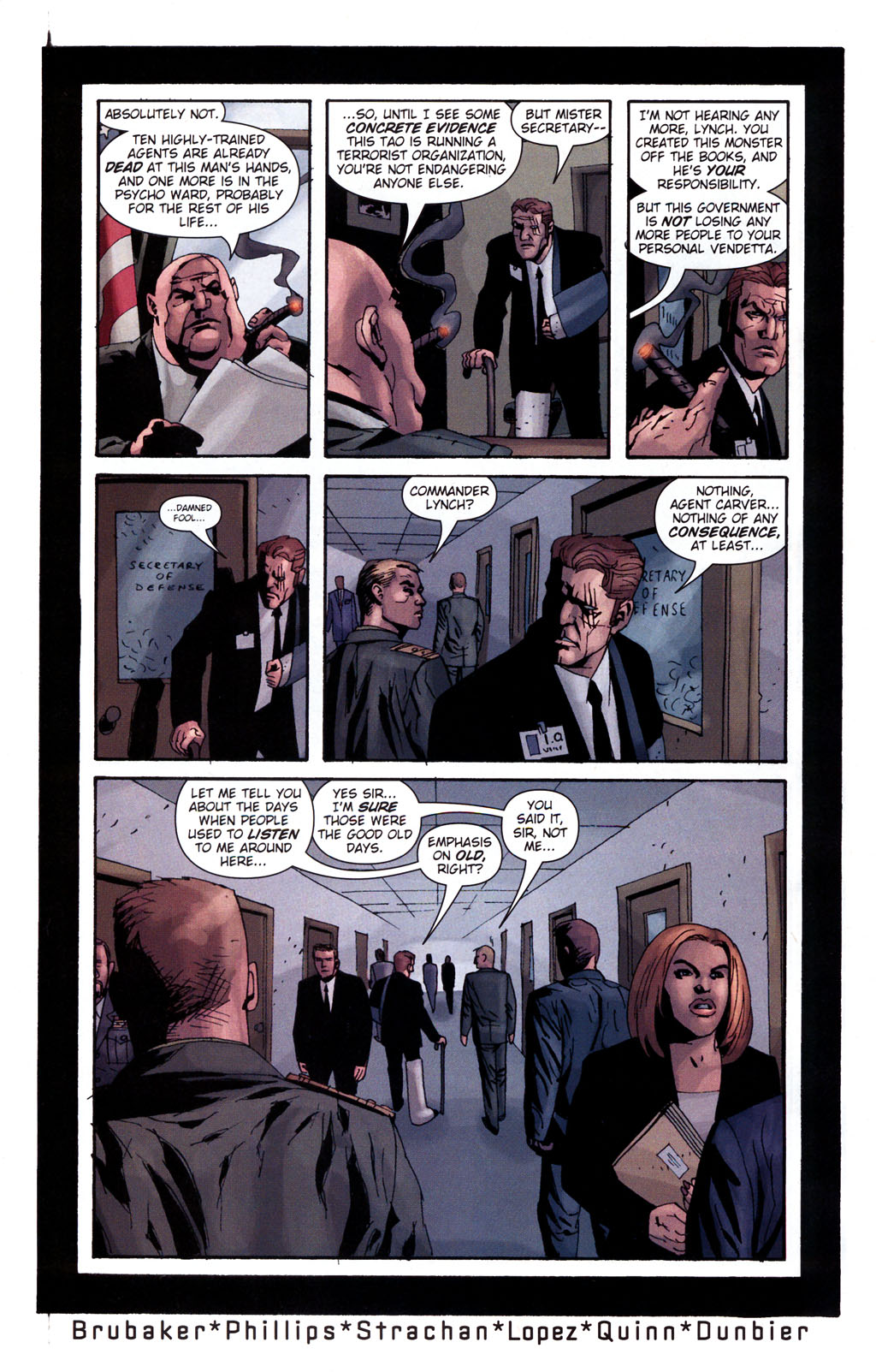 Read online Sleeper: Season Two comic -  Issue #5 - 23