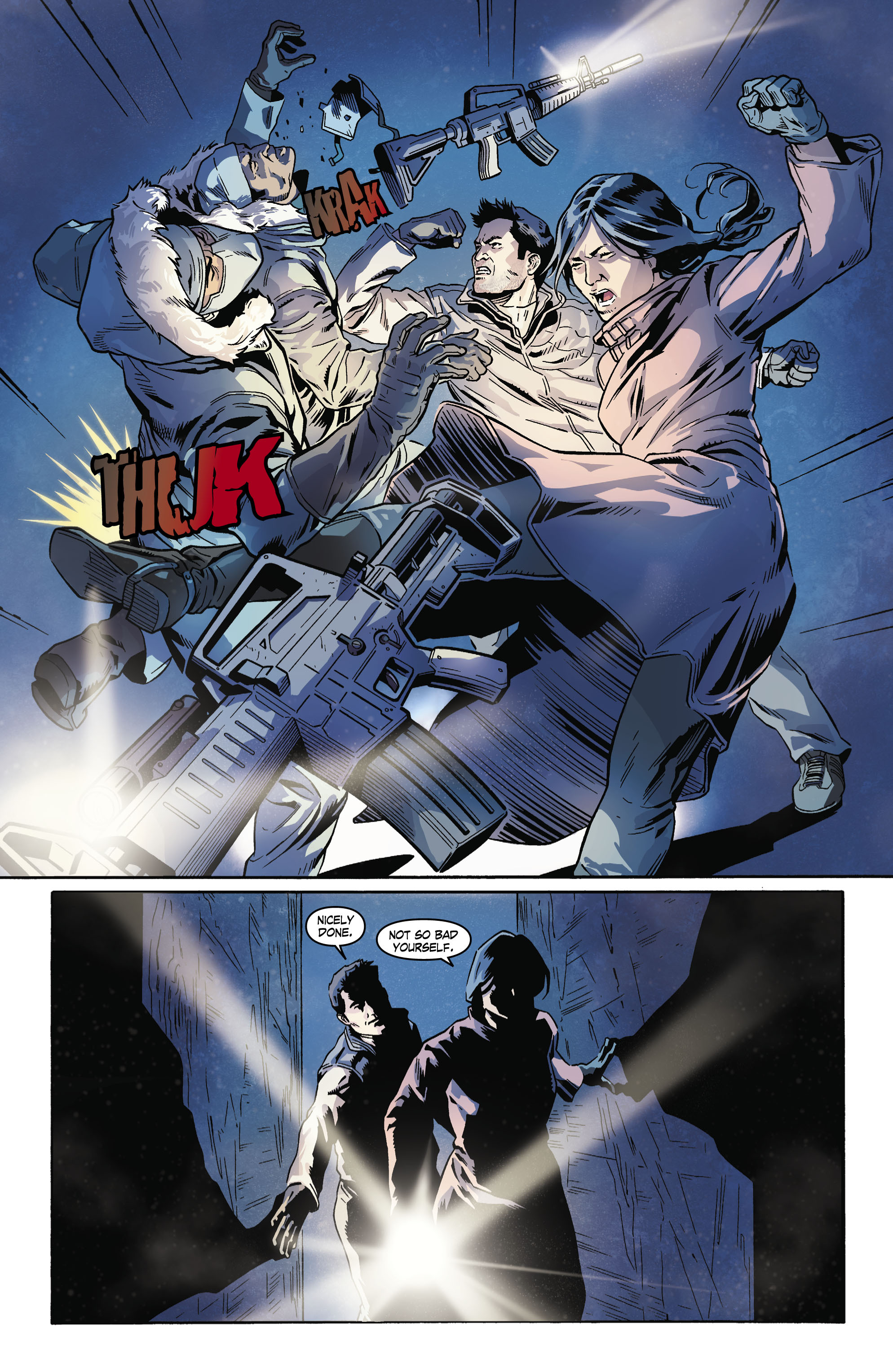 Read online Uncharted comic -  Issue #4 - 10