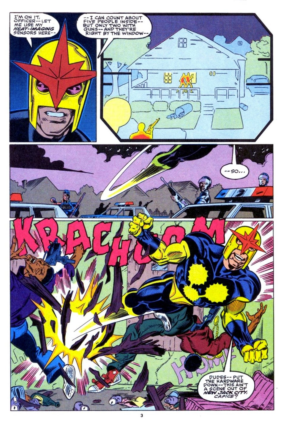 The New Warriors Issue #15 #19 - English 4