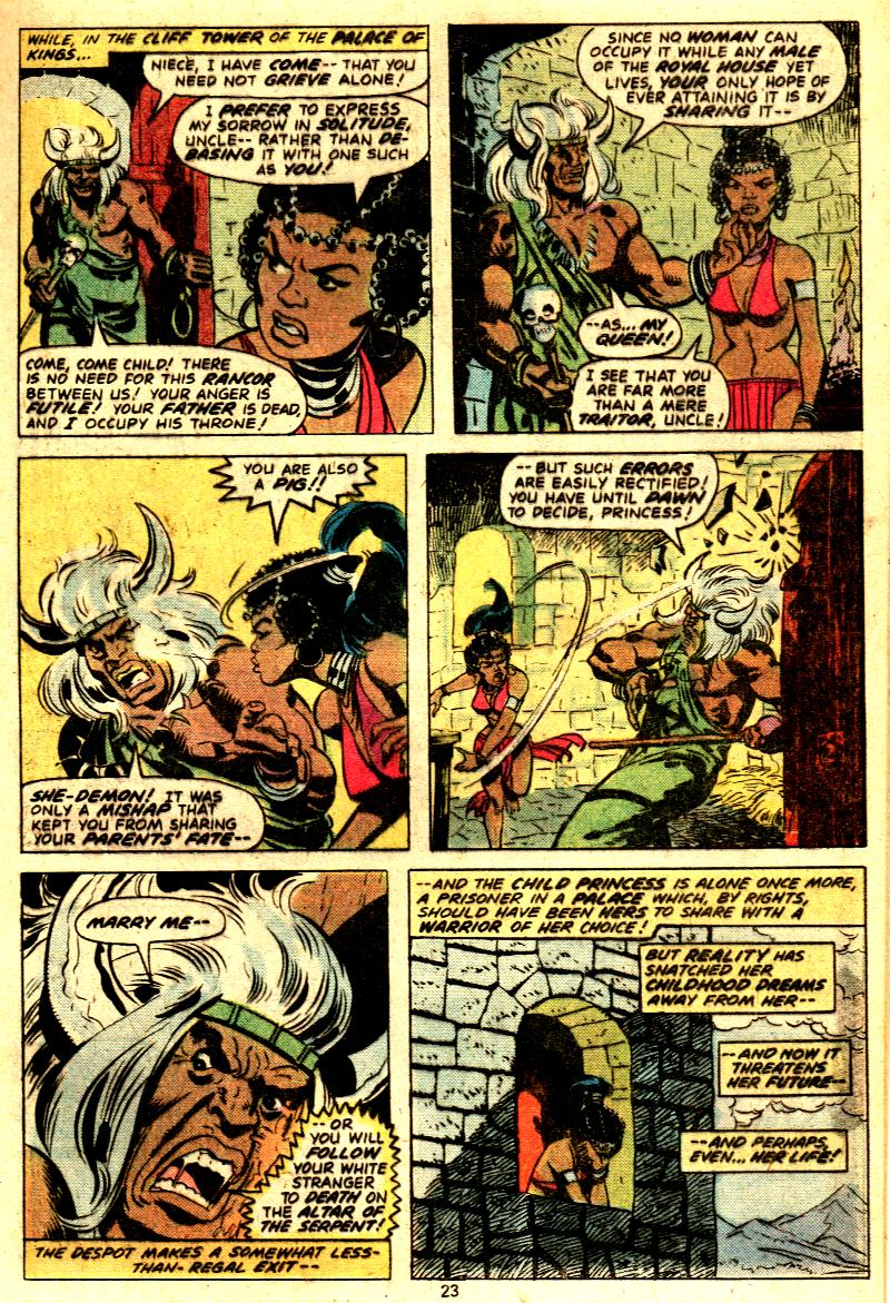 Read online Tarzan (1977) comic -  Issue # _Annual 2 - 19