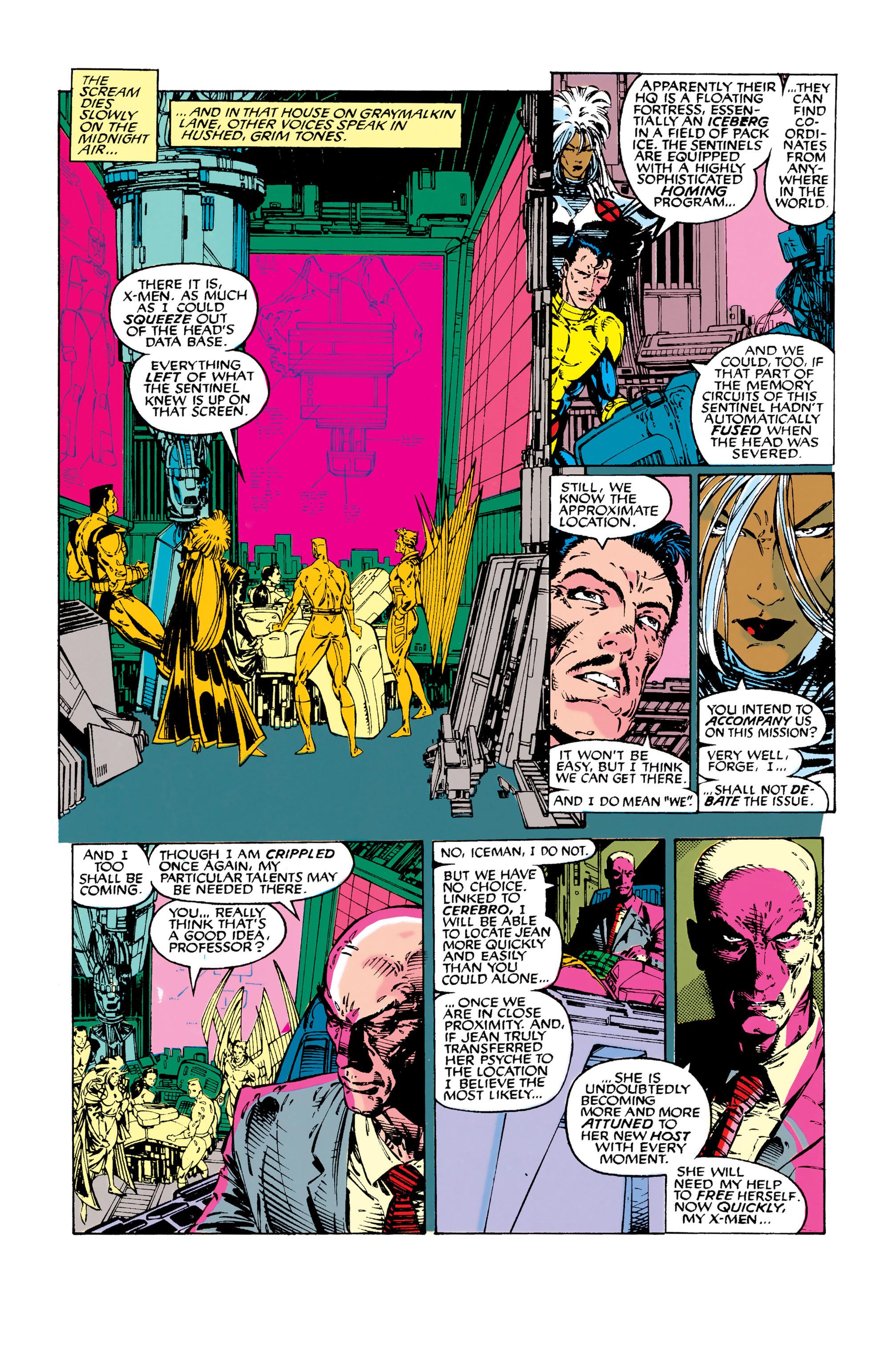 Read online Uncanny X-Men (1963) comic -  Issue #282 - 6