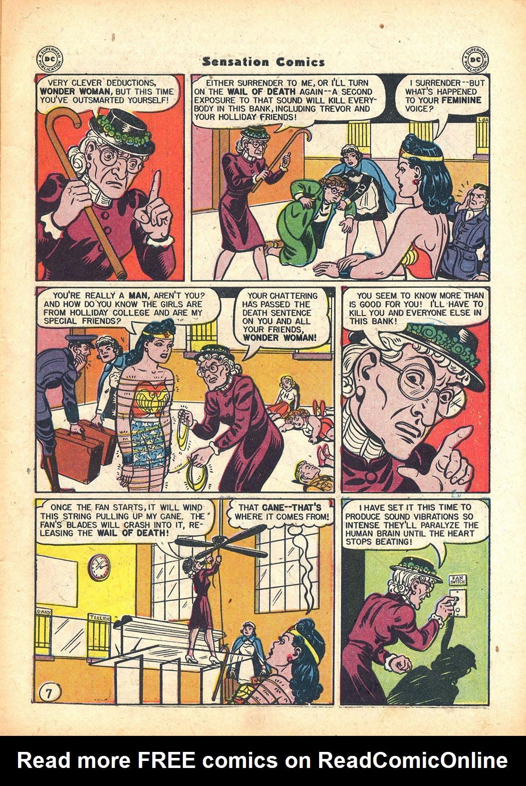 Read online Sensation (Mystery) Comics comic -  Issue #63 - 9