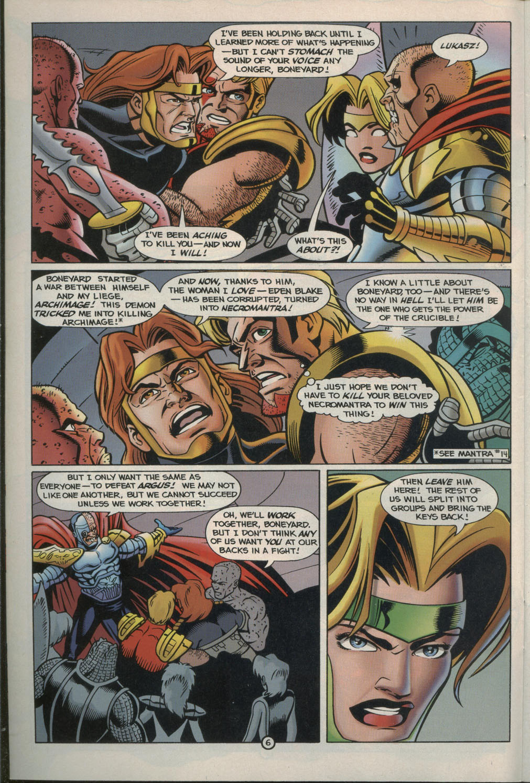 Read online Godwheel comic -  Issue #2 - 9