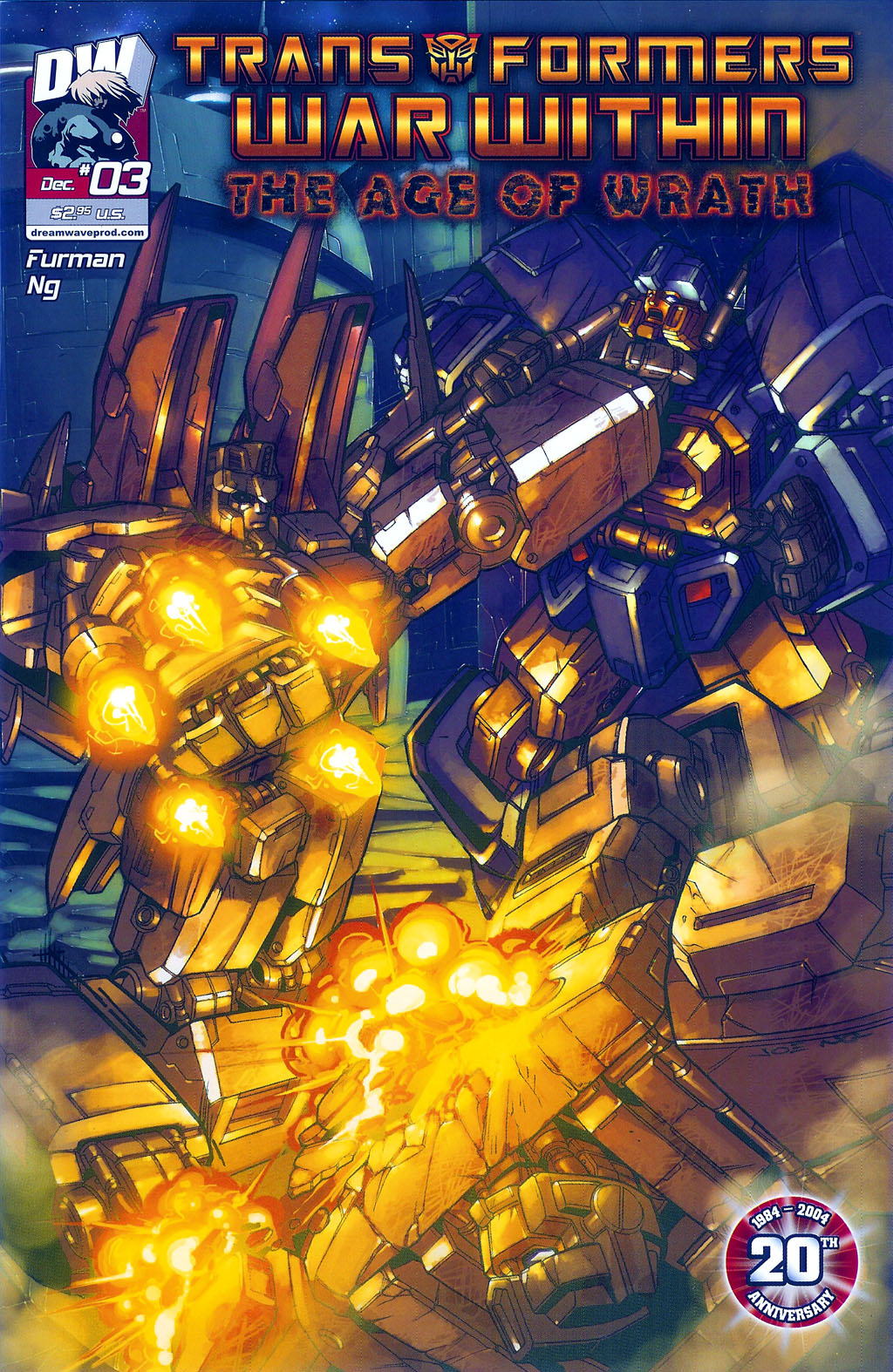"""Read online Transformers War Within: """"The Age of Wrath"""" comic -  Issue #3 - 1"""