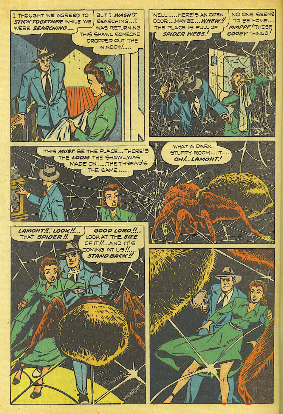 Read online Shadow Comics comic -  Issue #87 - 9