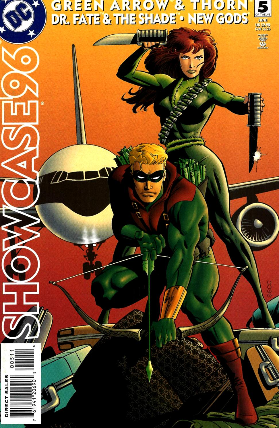 Read online Showcase '96 comic -  Issue #5 - 1