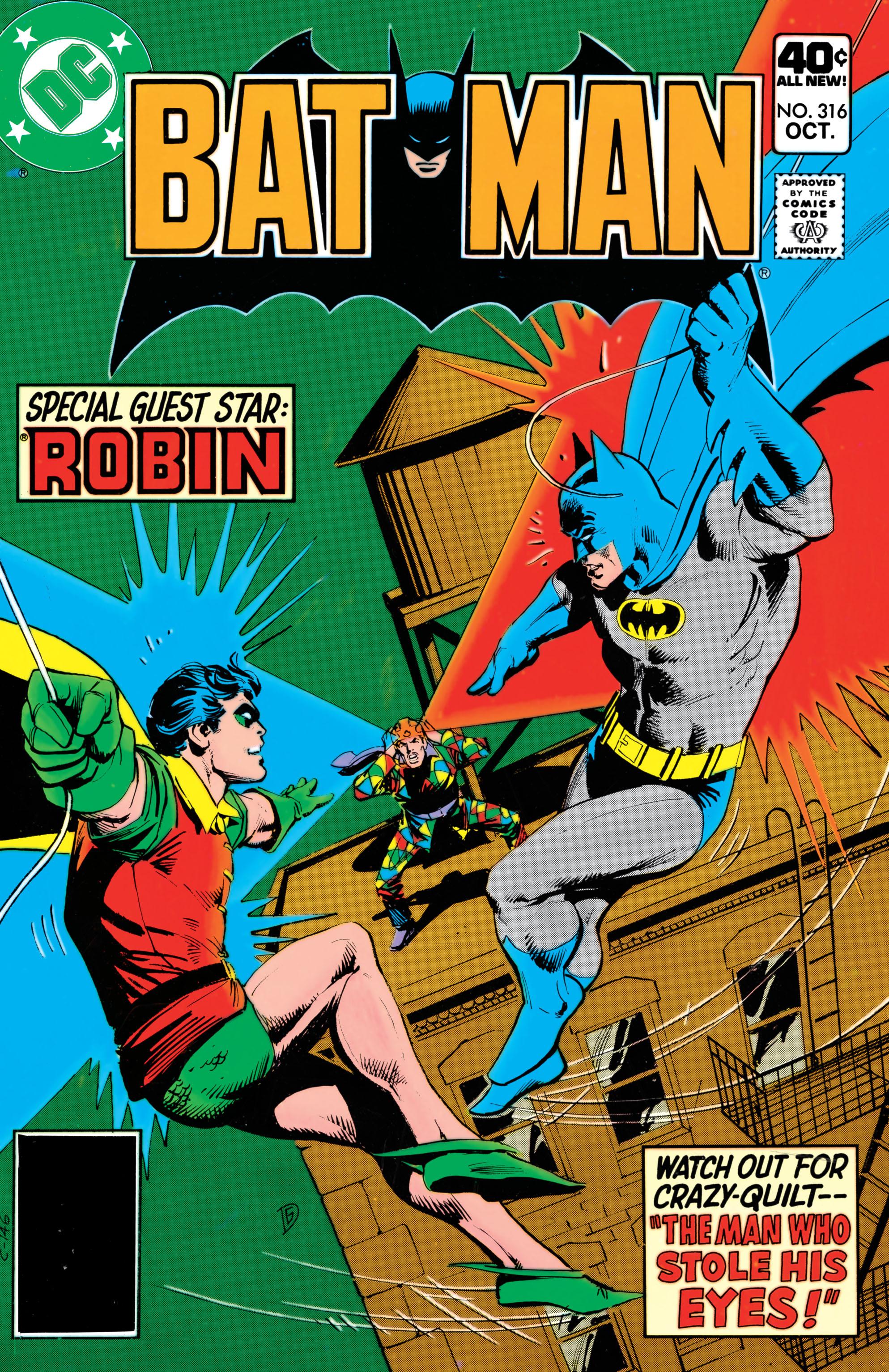 Batman (1940) 316 Page 1