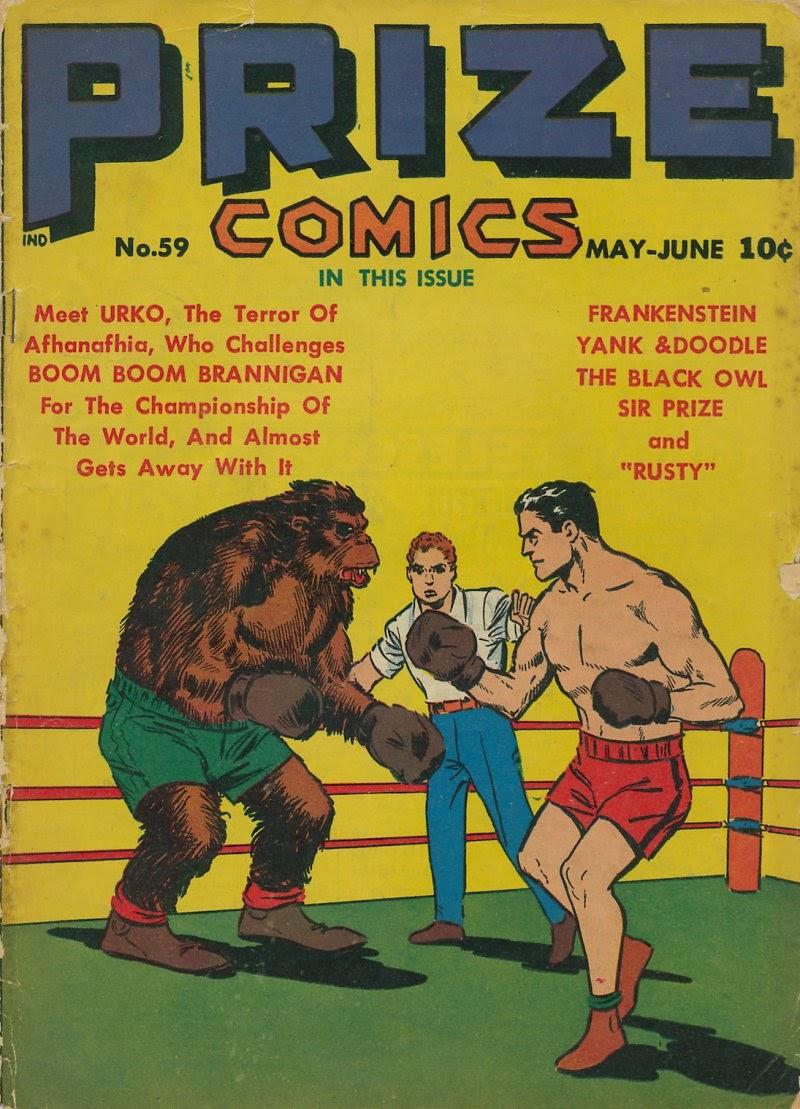 Prize Comics 59 Page 1