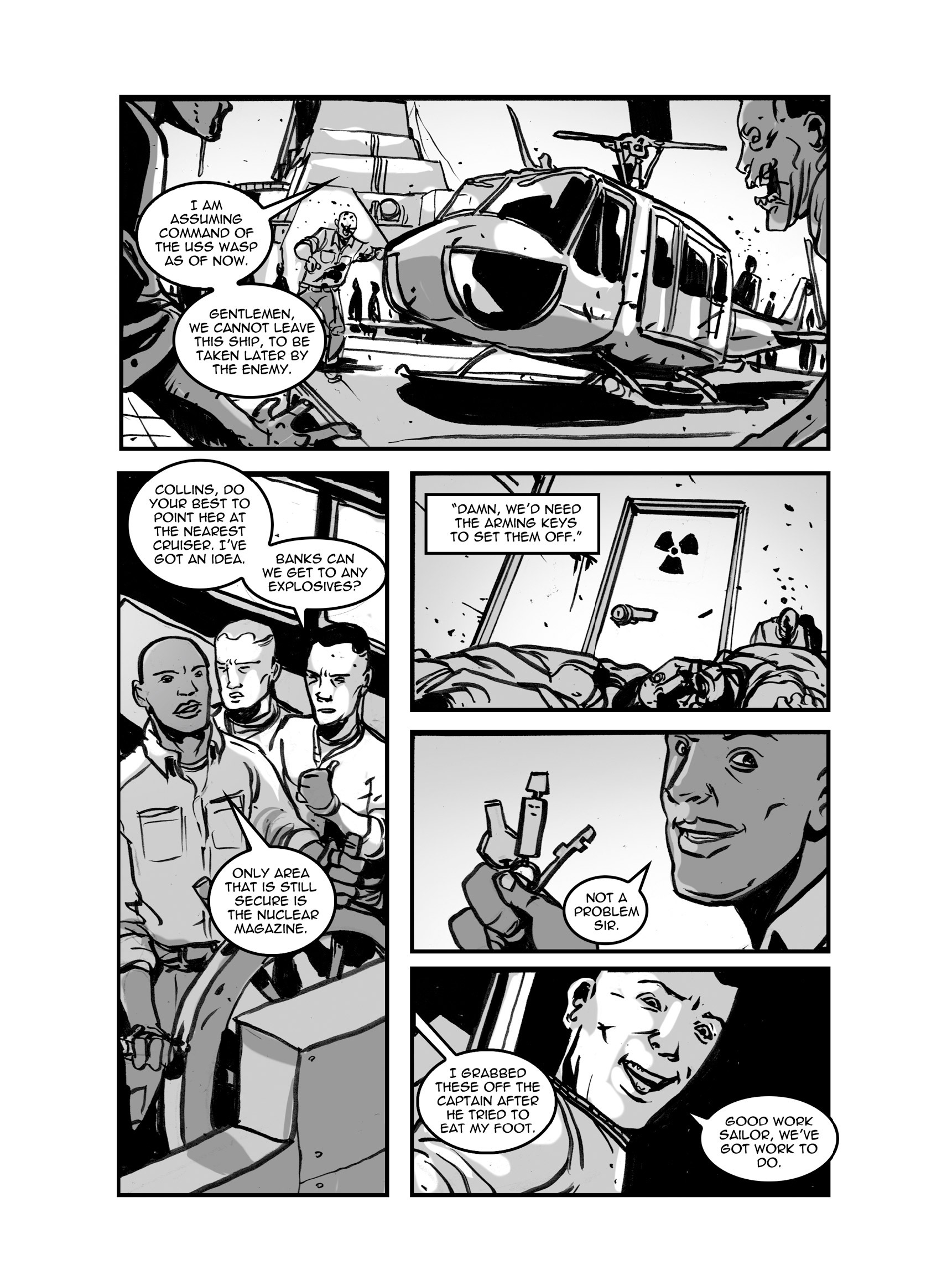 Read online FUBAR comic -  Issue #3 - 328