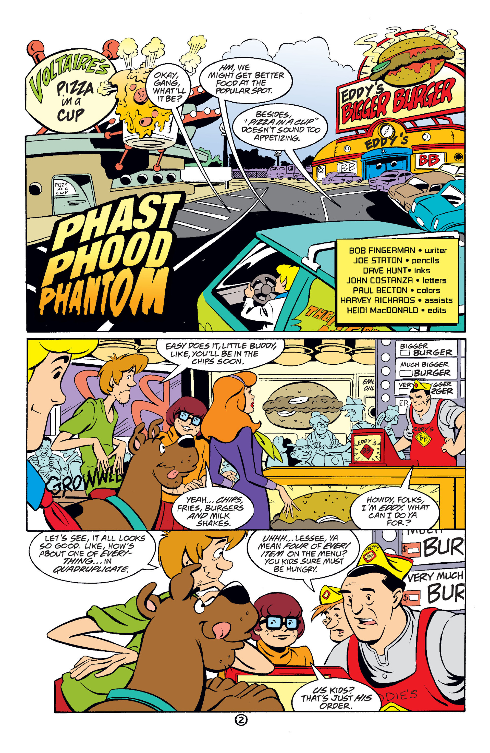 Read online Scooby-Doo (1997) comic -  Issue #35 - 3