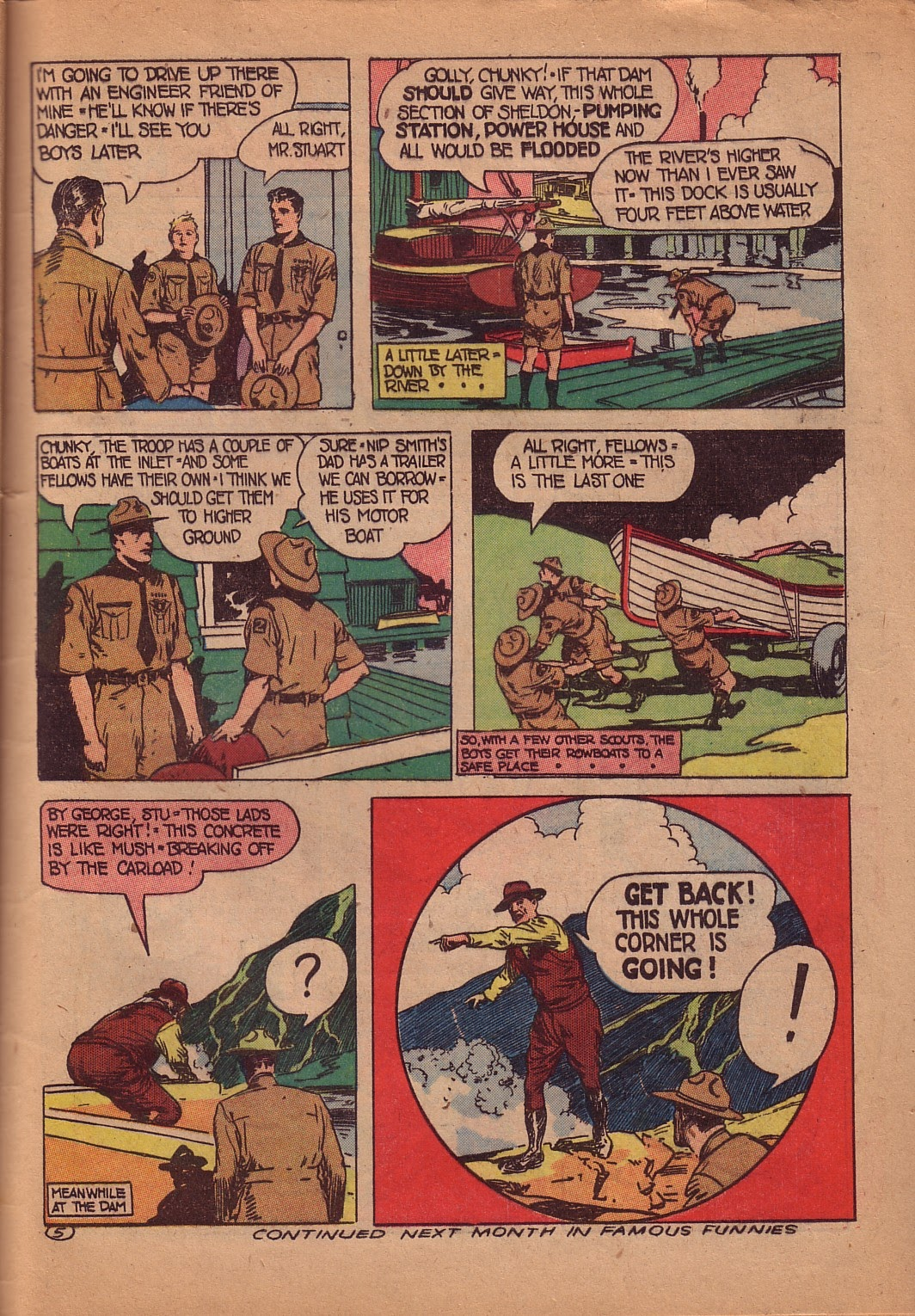 Read online Famous Funnies comic -  Issue #107 - 48