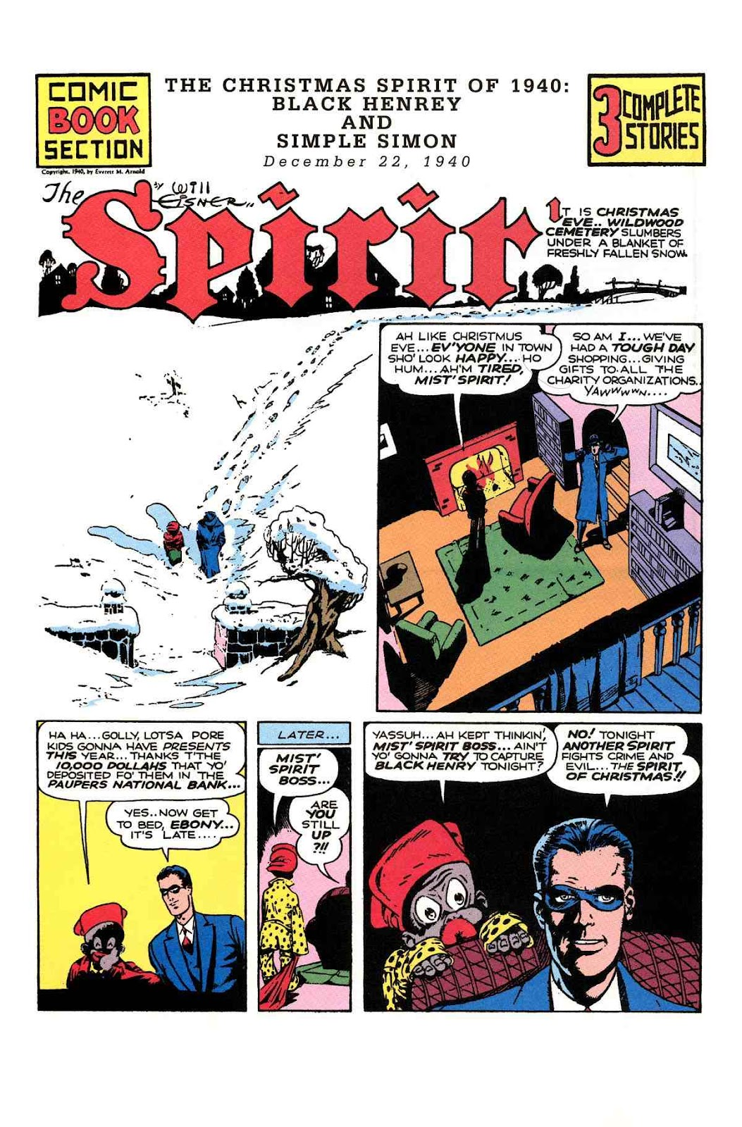 Read online Will Eisner's The Spirit Archives comic -  Issue # TPB 1 (Part 3) - 5
