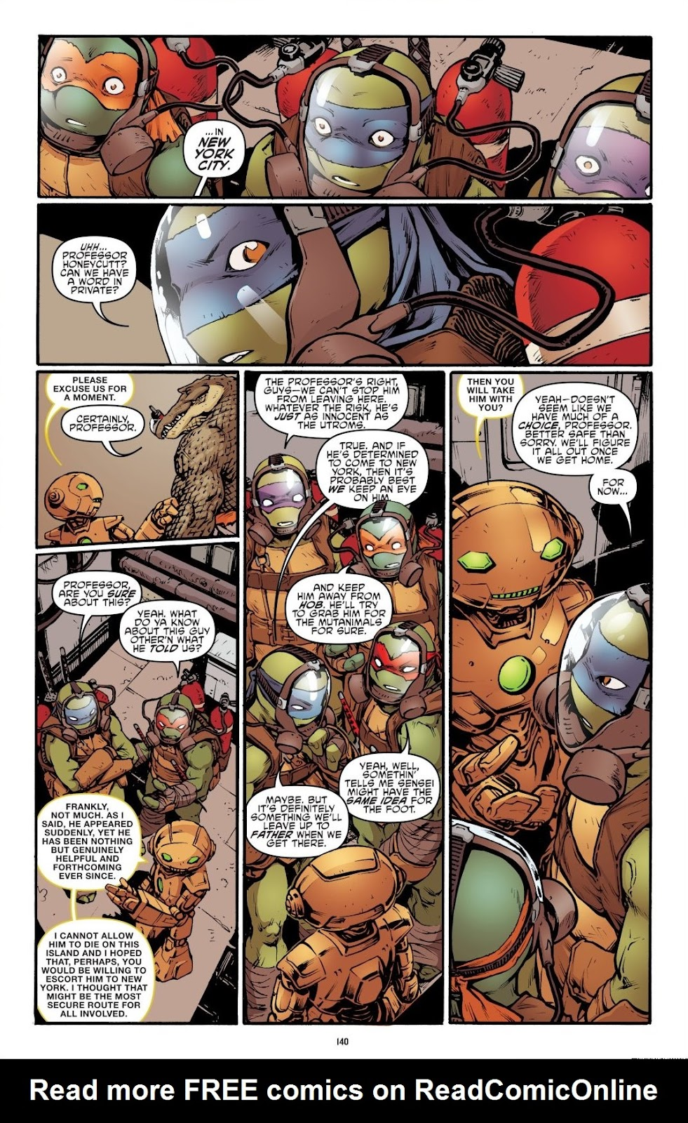 Read online Teenage Mutant Ninja Turtles: The IDW Collection comic -  Issue # TPB 7 (Part 2) - 36