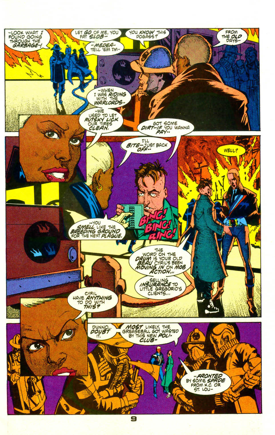 Read online American Flagg! comic -  Issue #19 - 12