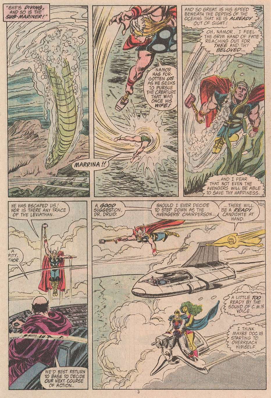 The Avengers (1963) 292 Page 3