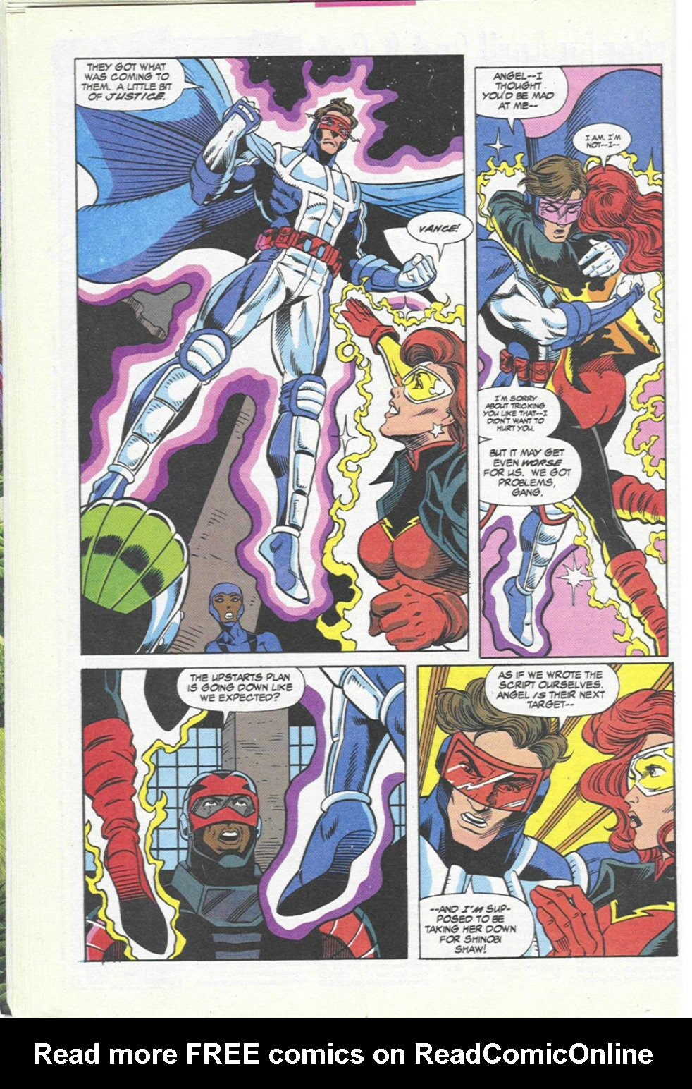 The New Warriors Issue #45 #49 - English 18