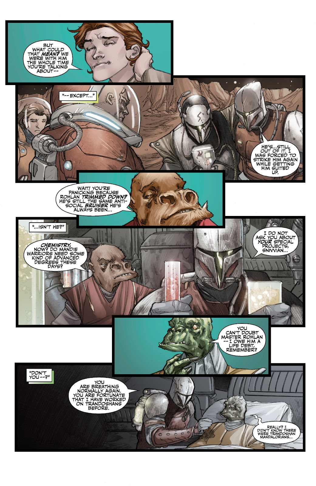 Read online Star Wars Legends: The Old Republic - Epic Collection comic -  Issue # TPB 3 (Part 3) - 23