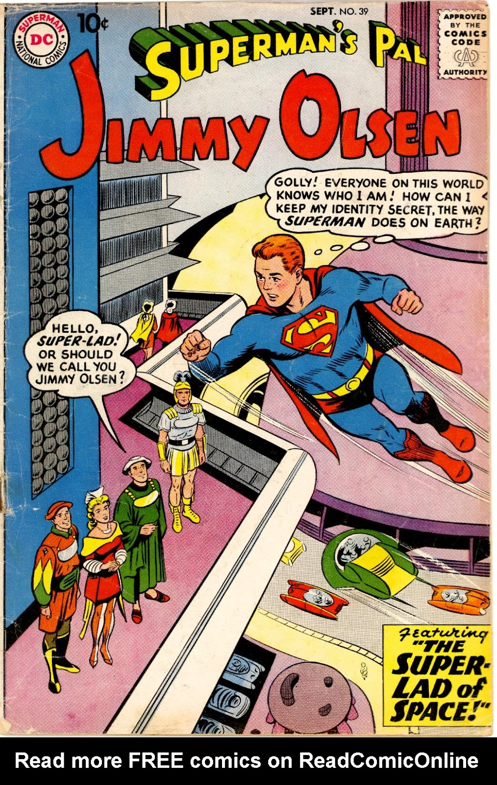 Supermans Pal Jimmy Olsen (1954) 39 Page 1