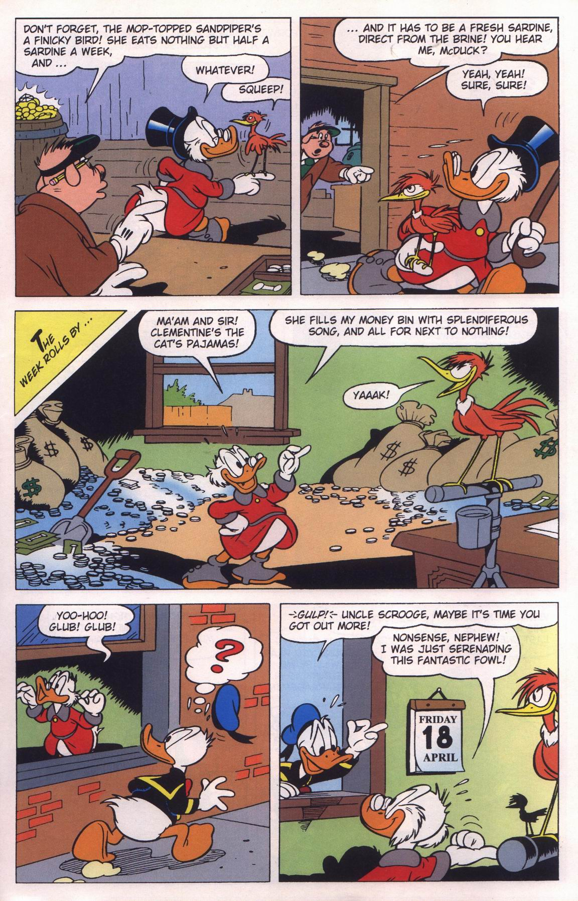 Read online Uncle Scrooge (1953) comic -  Issue #315 - 9