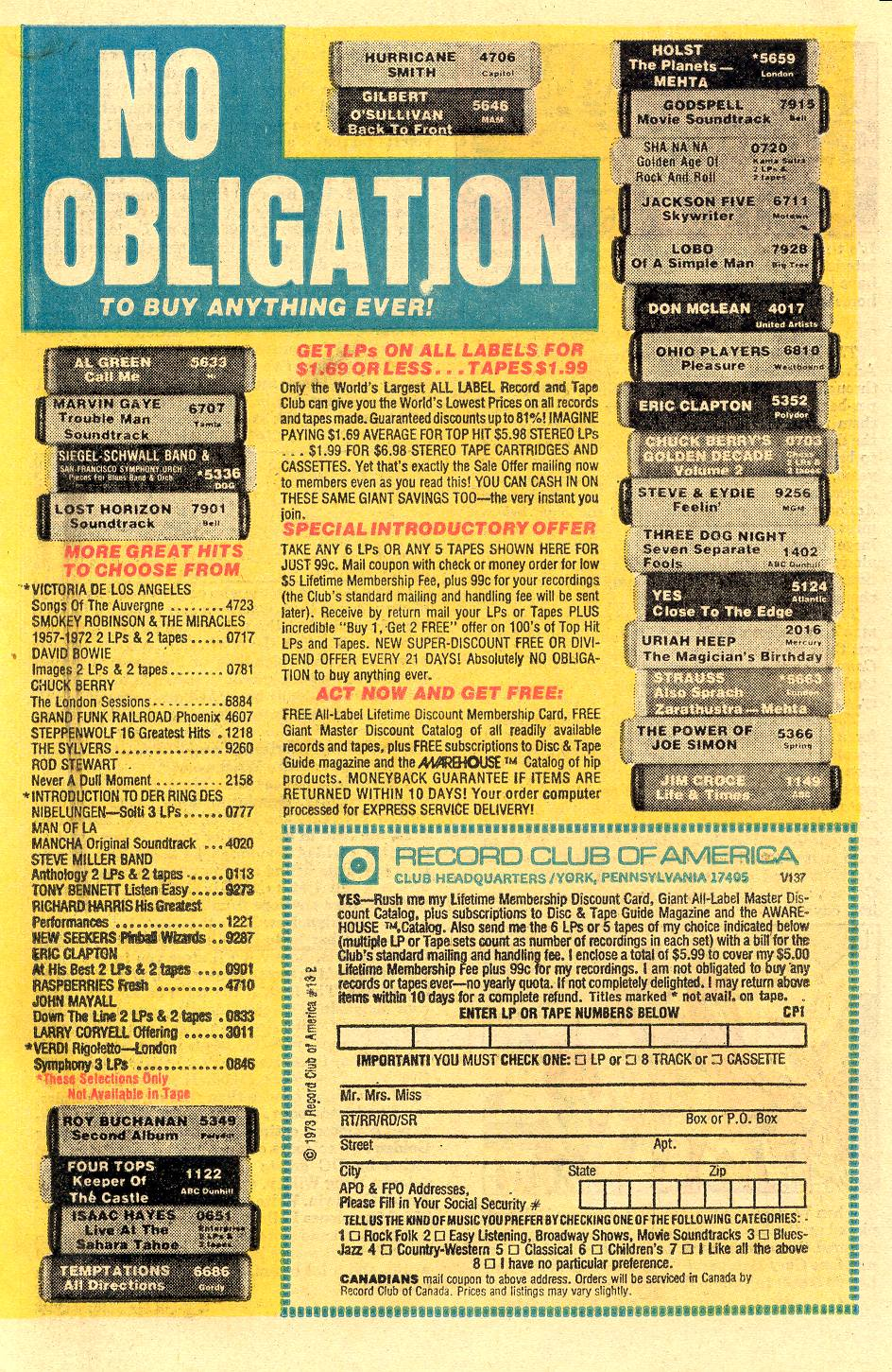Read online Secret Origins (1973) comic -  Issue #5 - 19