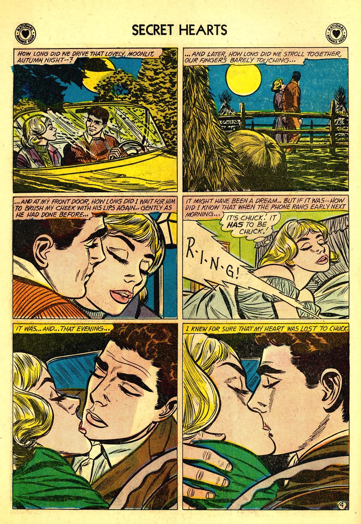 Read online Secret Hearts comic -  Issue #64 - 6